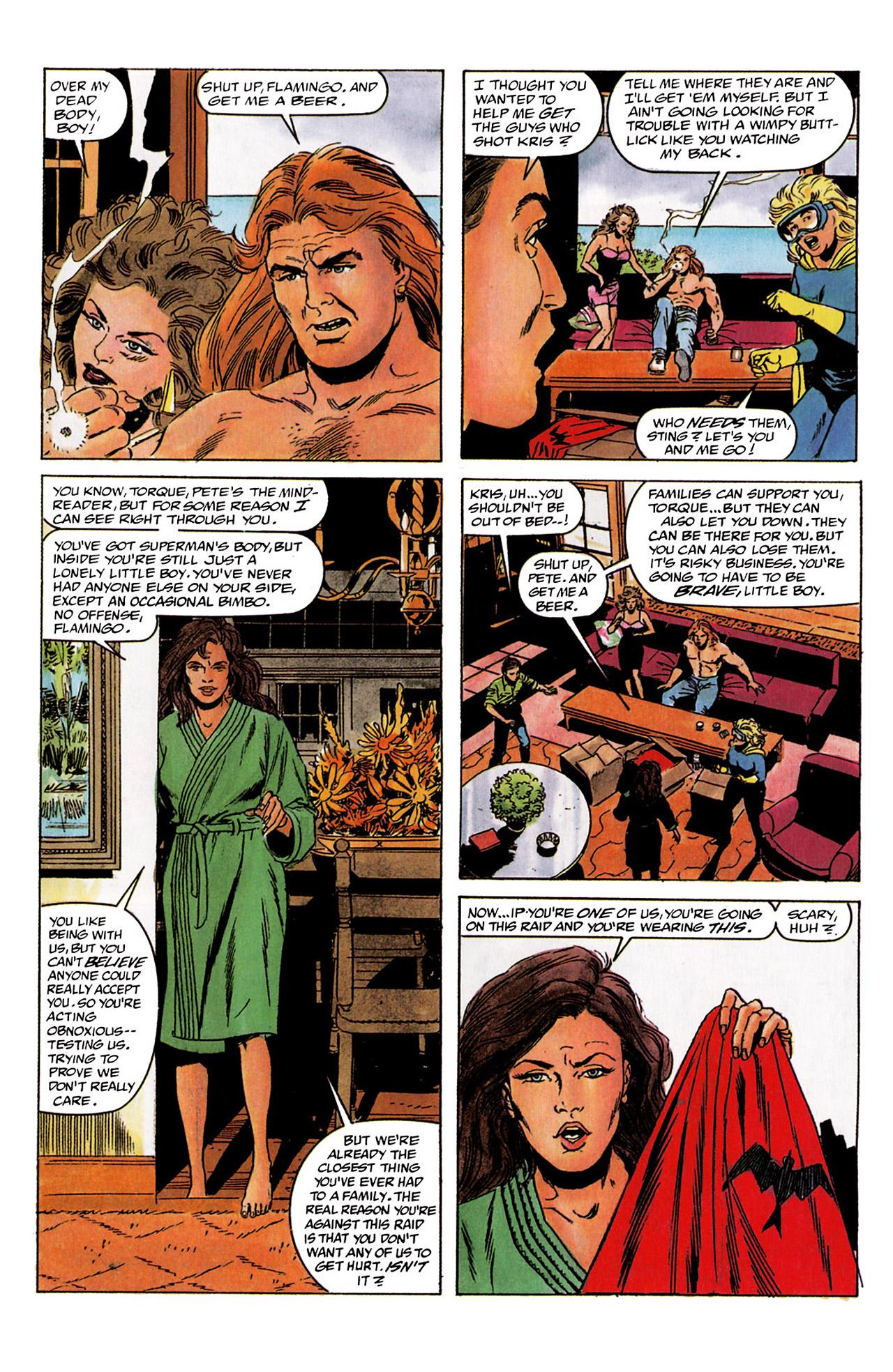 Read online Harbinger (1992) comic -  Issue #2 - 16