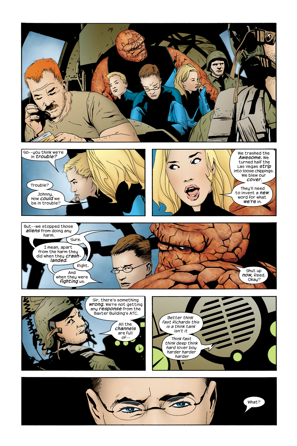 Read online Ultimate Fantastic Four (2004) comic -  Issue #19 - 4