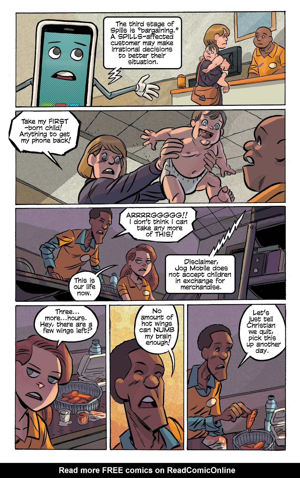 Read online Cellies comic -  Issue #7 - 21