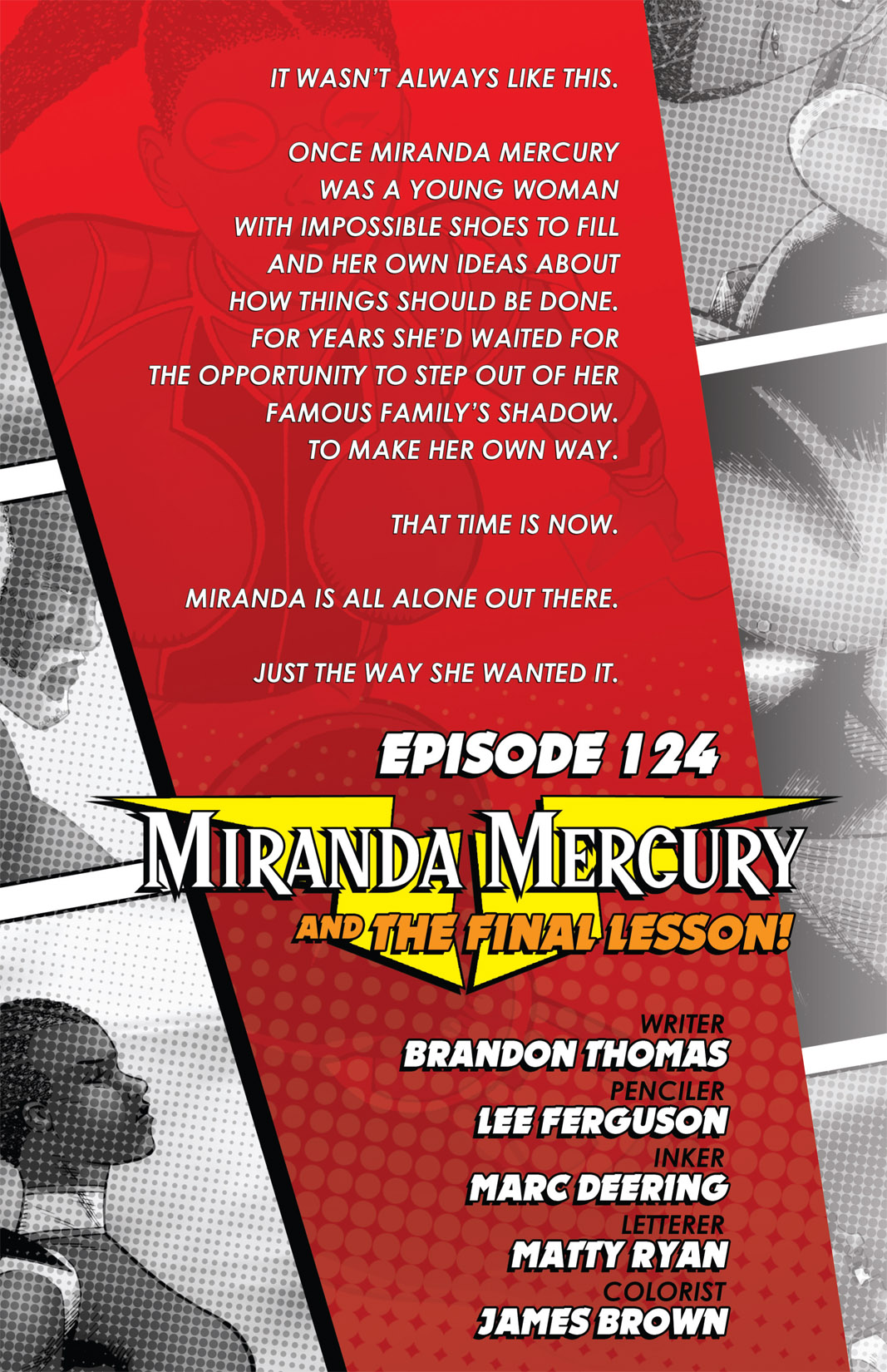 Read online The Many Adventures of Miranda Mercury: Time Runs Out comic -  Issue # TPB - 154