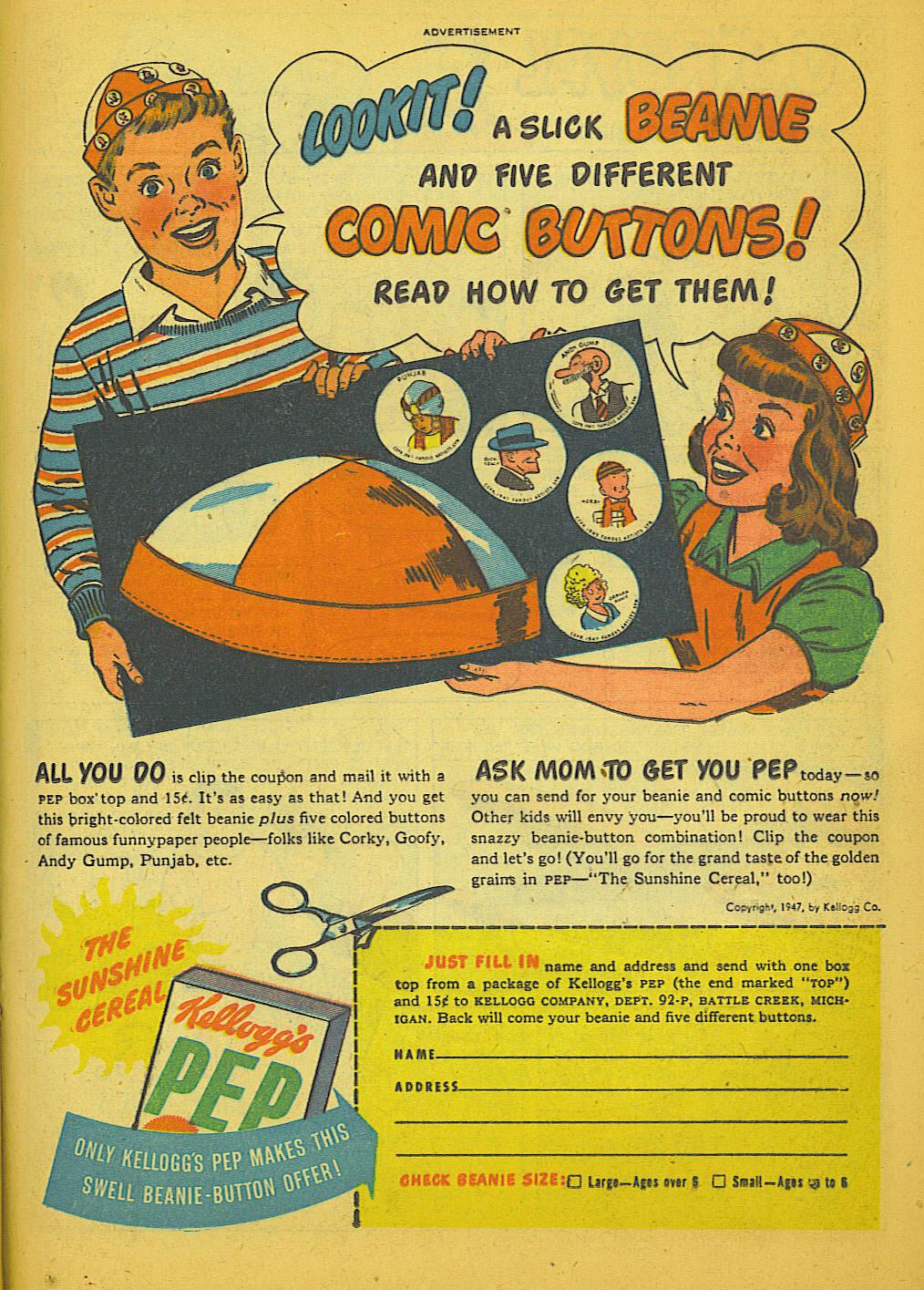 Read online Sensation (Mystery) Comics comic -  Issue #66 - 31