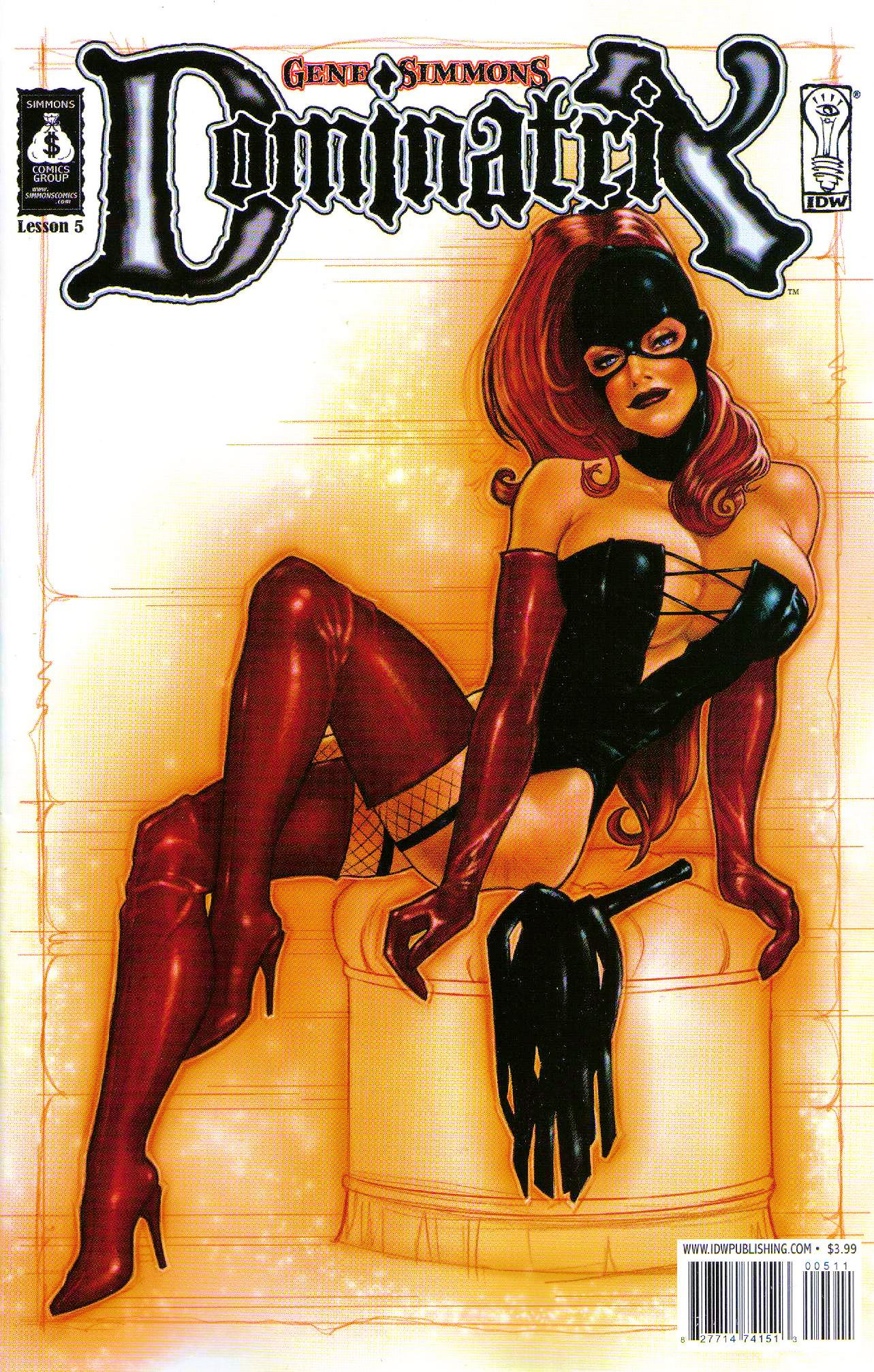 Read online Dominatrix comic -  Issue #5 - 1