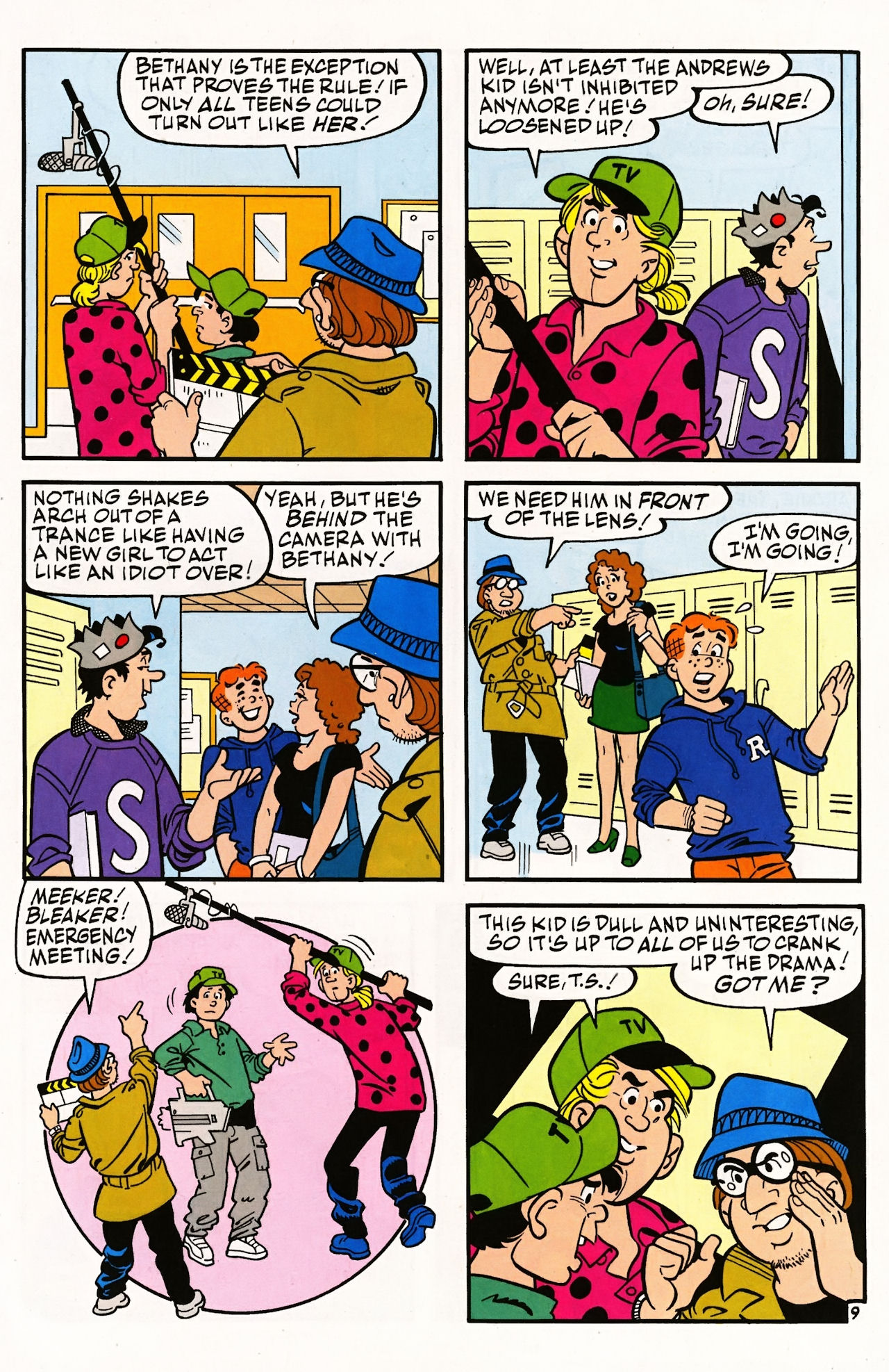 Read online Archie (1960) comic -  Issue #597 - 13