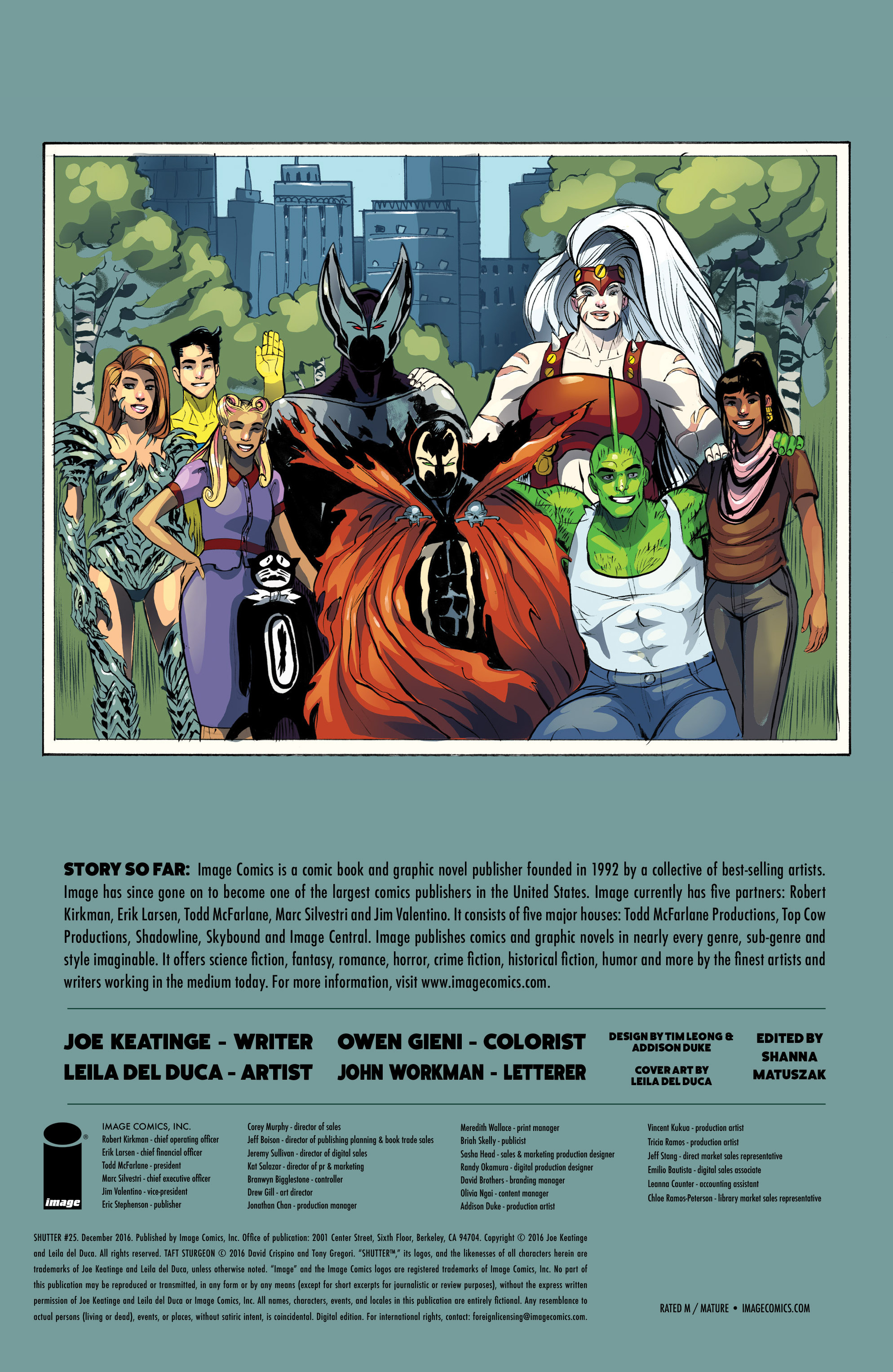 Read online Shutter comic -  Issue #25 - 27