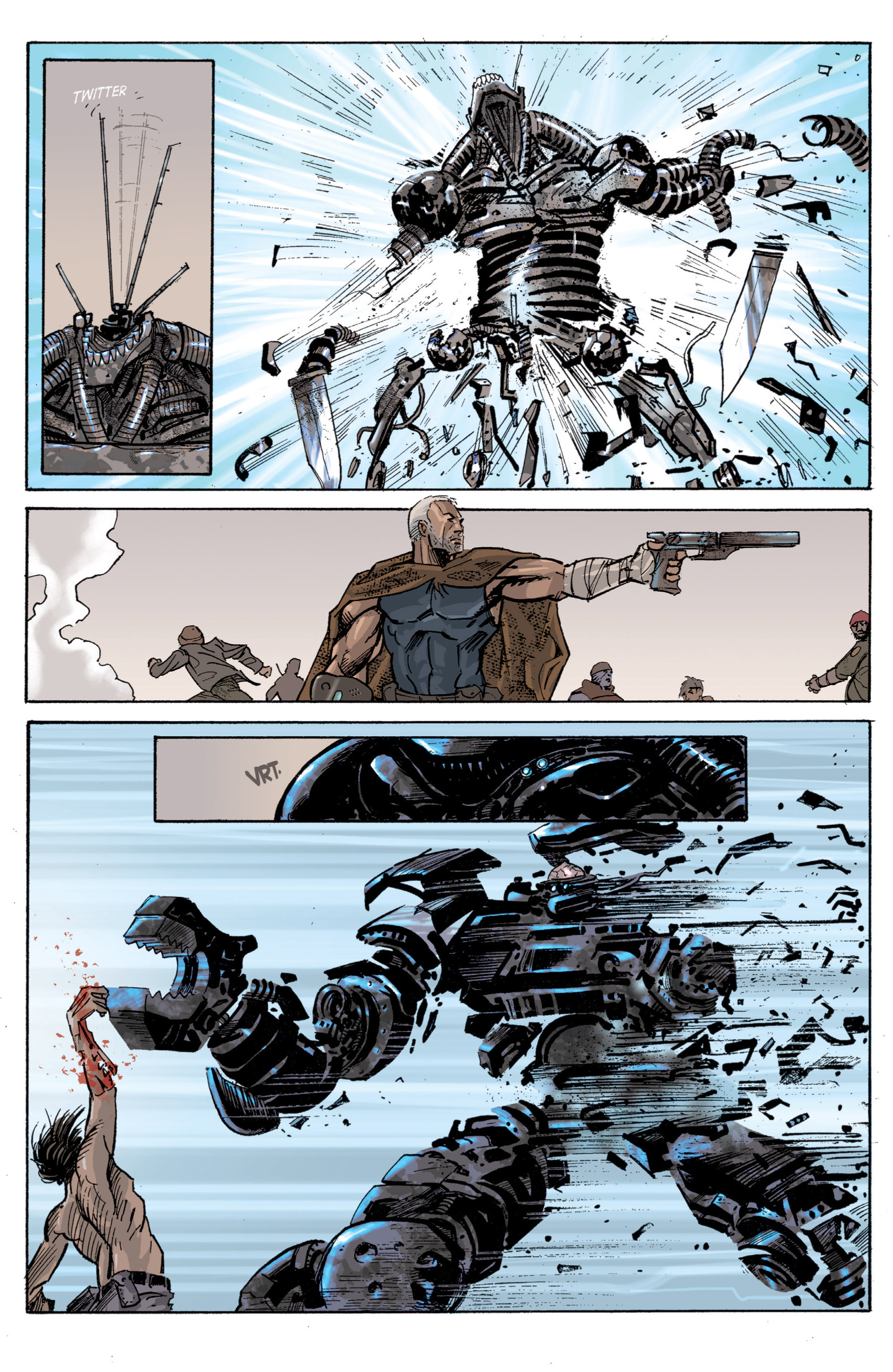 Read online Planetoid comic -  Issue # TPB - 70