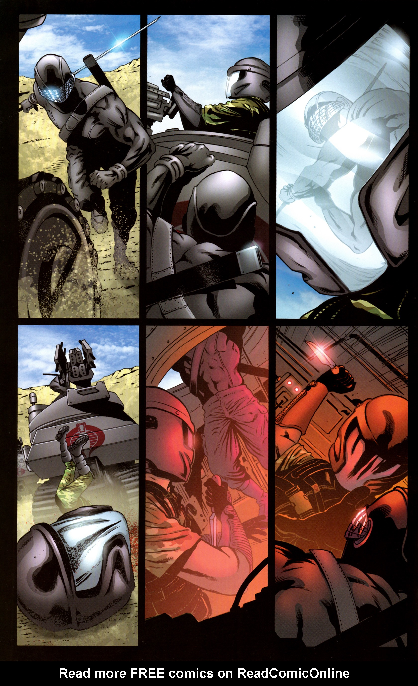 Read online G.I. Joe: Snake Eyes comic -  Issue #9 - 9