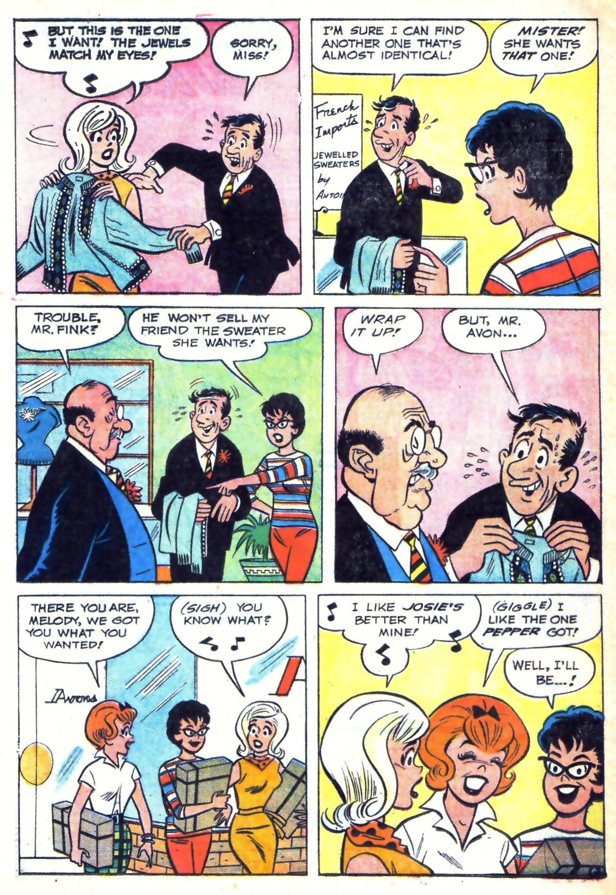 Read online She's Josie comic -  Issue #3 - 4