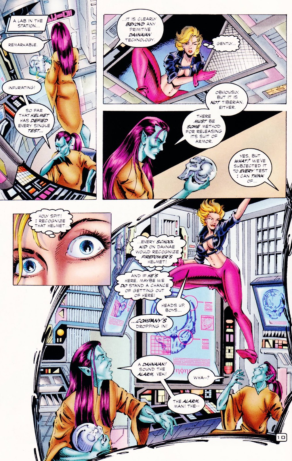 Read online The Alliance comic -  Issue #2 - 9