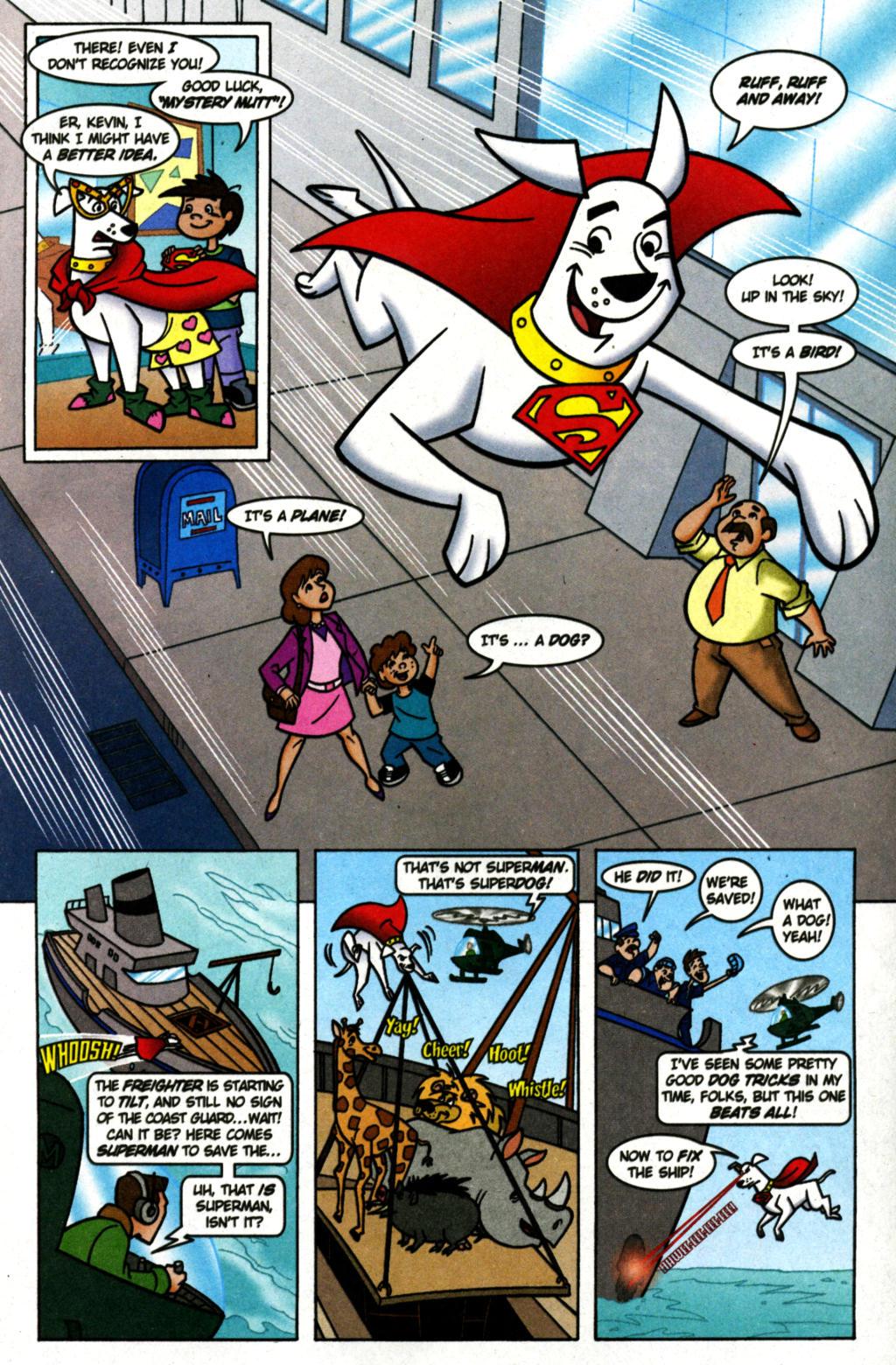 Read online Krypto the Superdog comic -  Issue #1 - 8