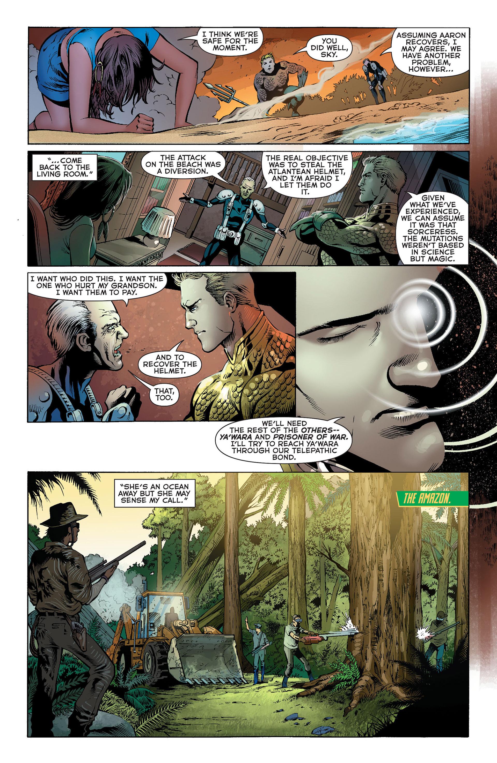 Read online Aquaman (2011) comic -  Issue #Aquaman (2011) _Annual 1 - 13