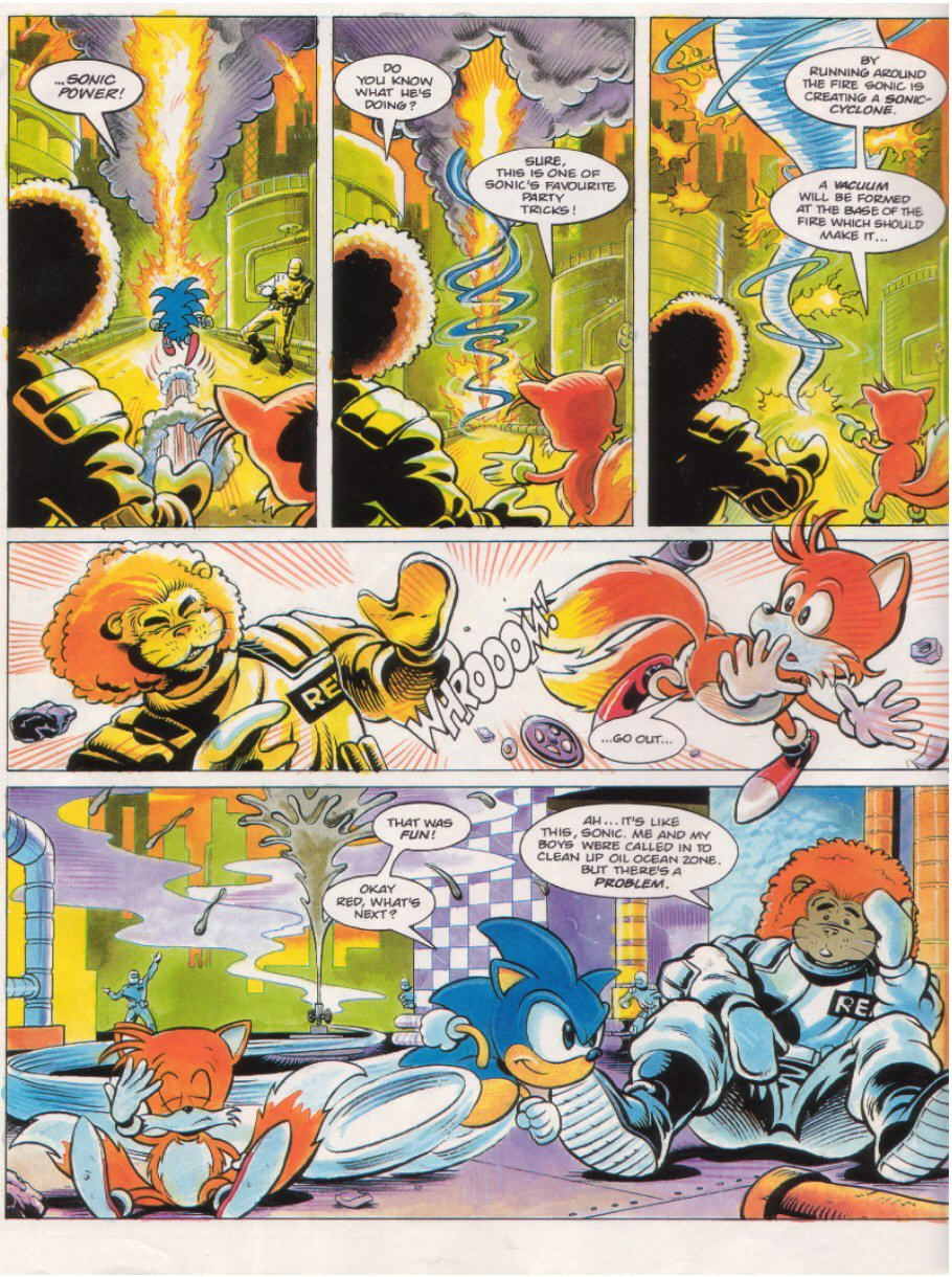 Read online Sonic the Comic comic -  Issue #7 - 4