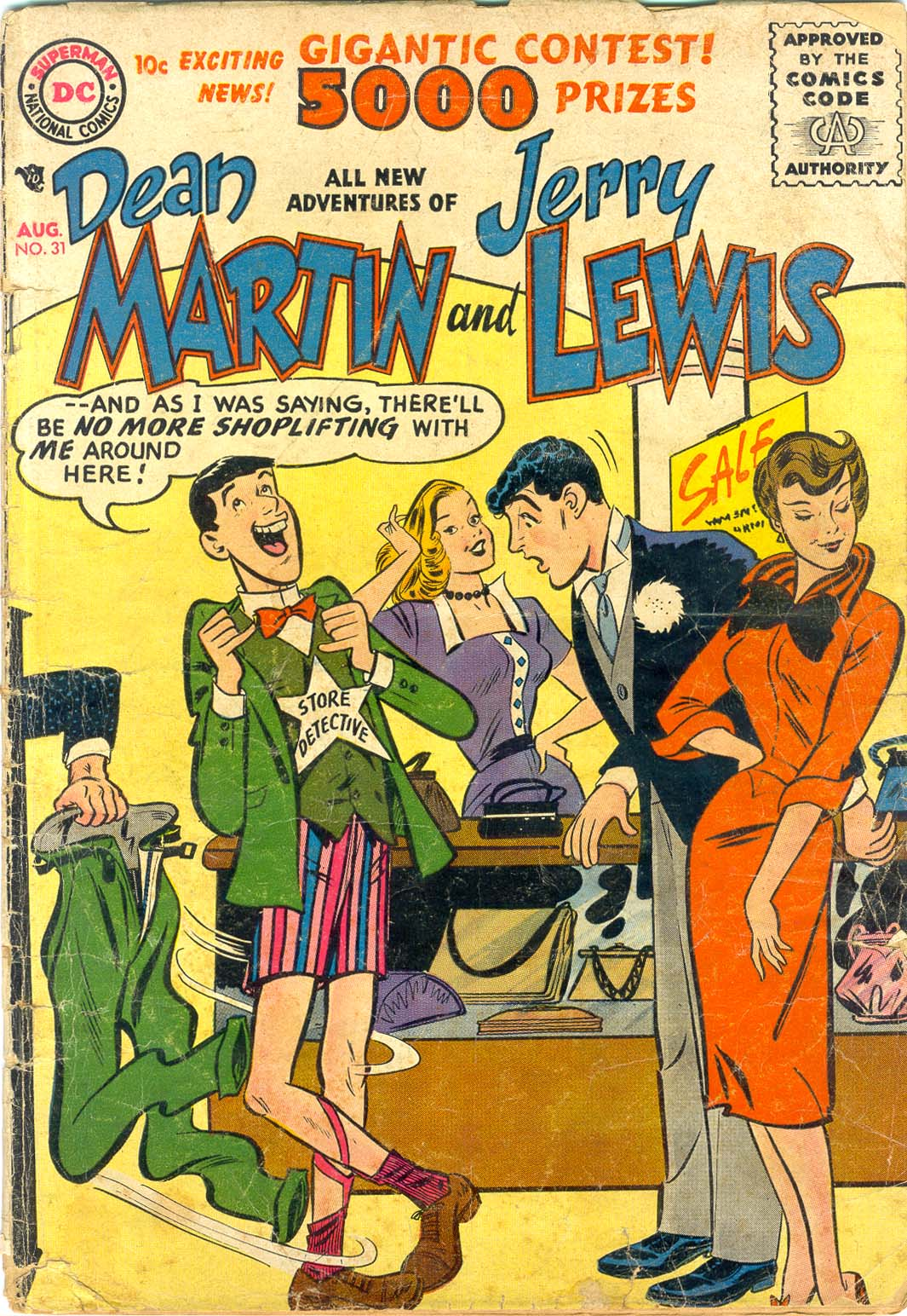 The Adventures of Dean Martin and Jerry Lewis 31 Page 1
