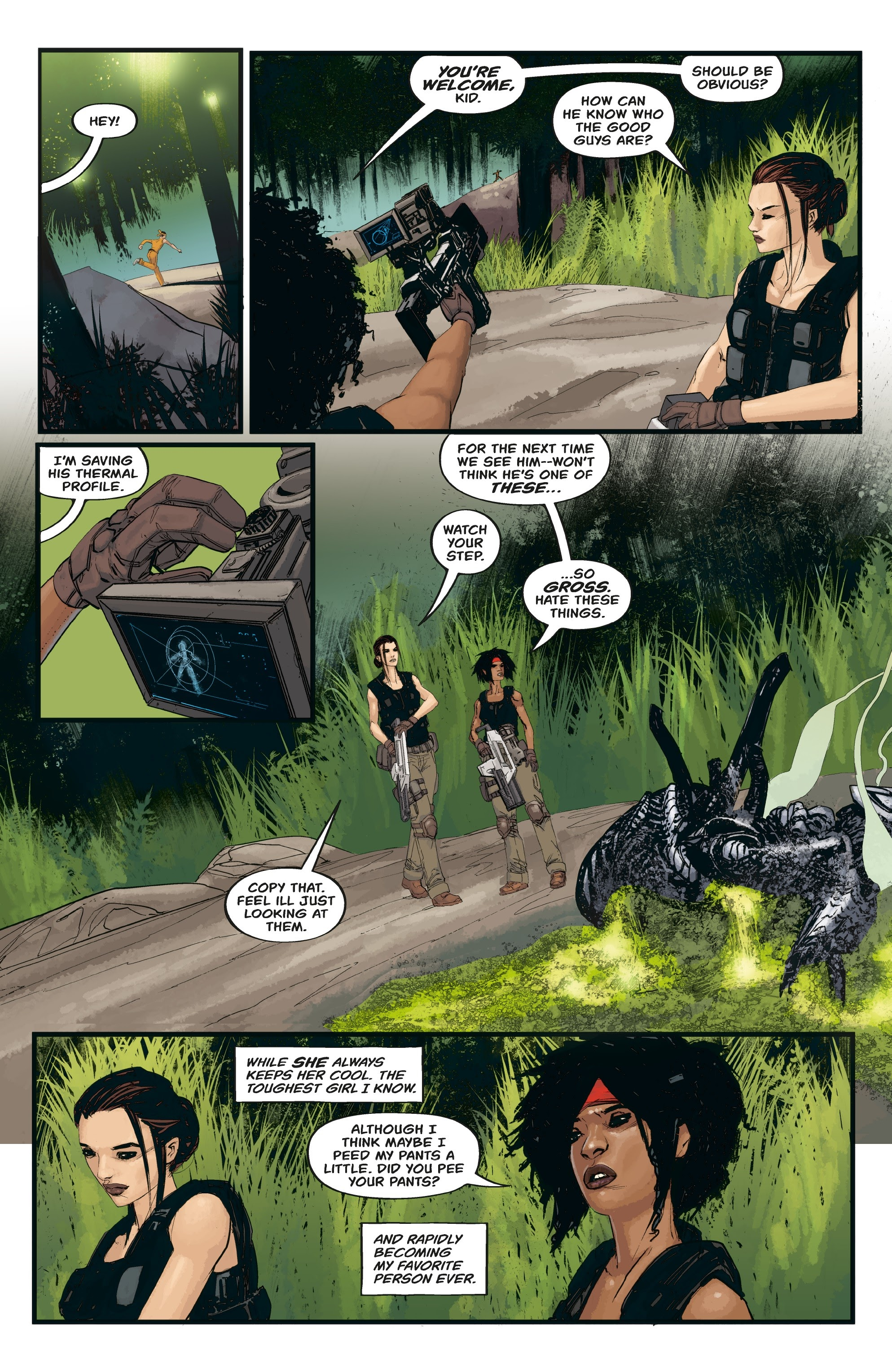 Aliens: Resistance issue 3 - Page 16