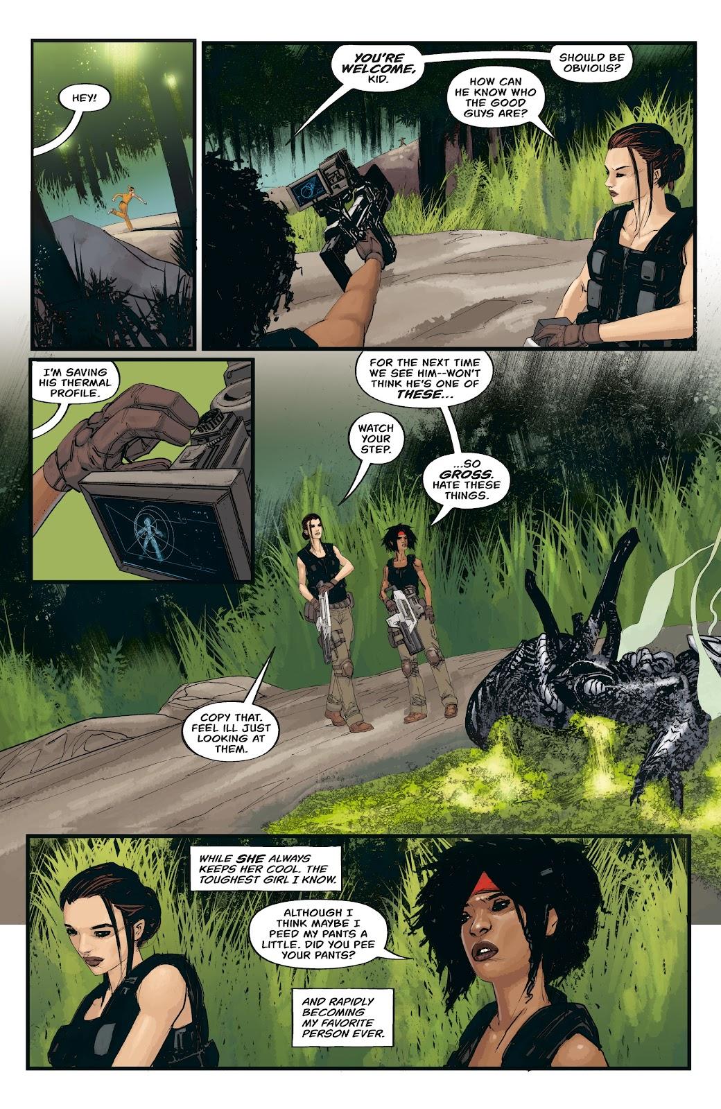 Read online Aliens: Resistance comic -  Issue #3 - 16