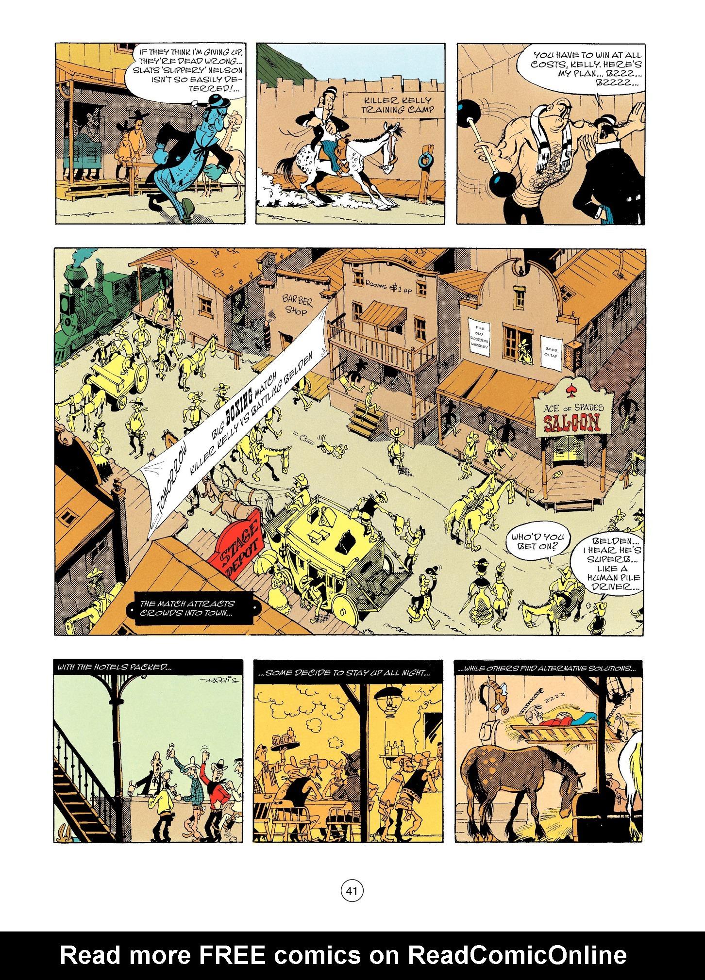 Read online A Lucky Luke Adventure comic -  Issue #56 - 41