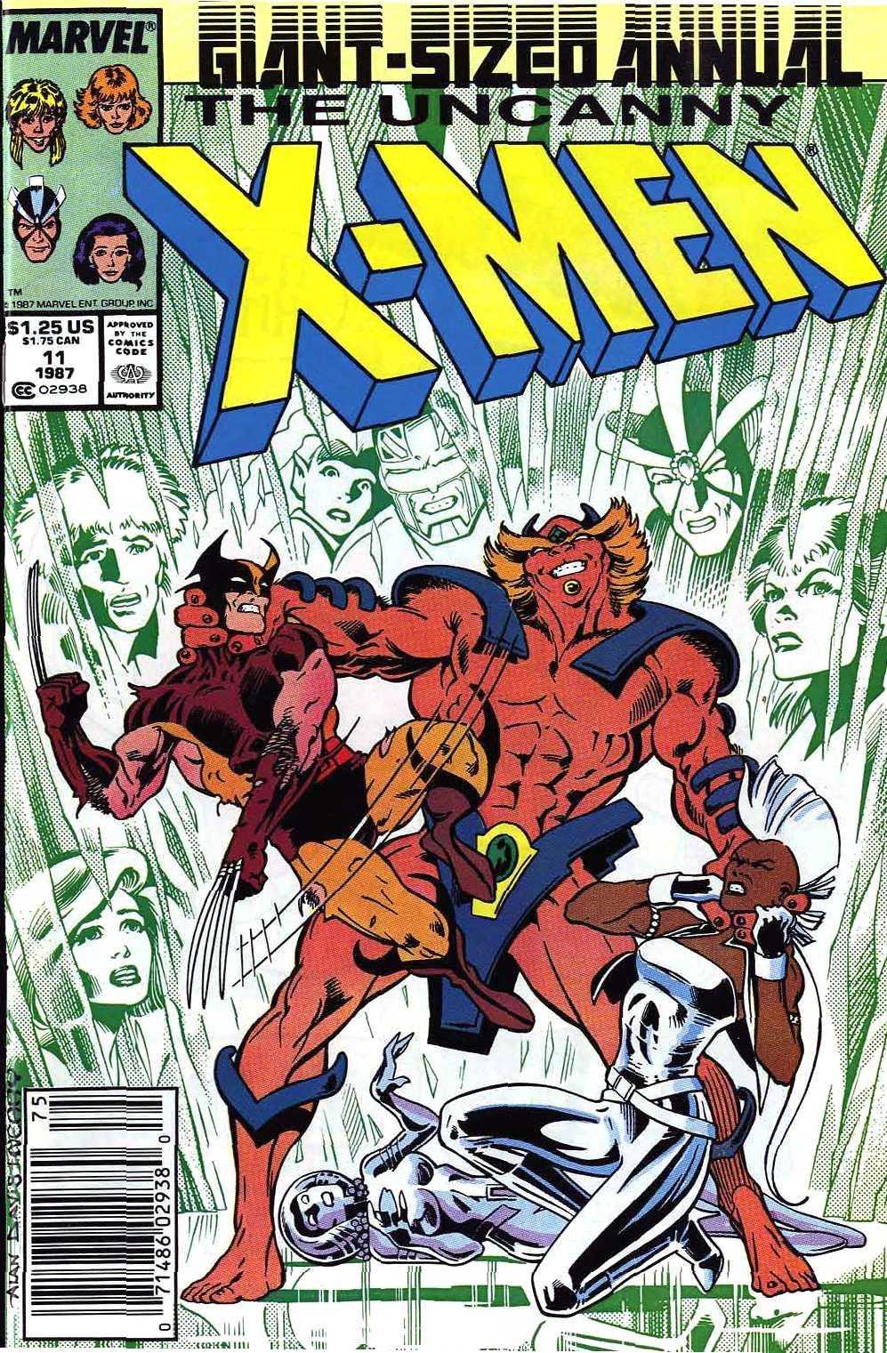 X-Men Annual 11 Page 1
