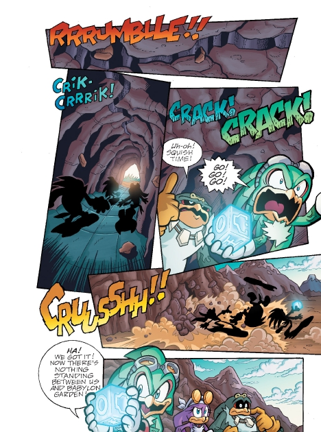 Read online Sonic Comics Spectacular: Speed of Sound comic -  Issue # Full - 163