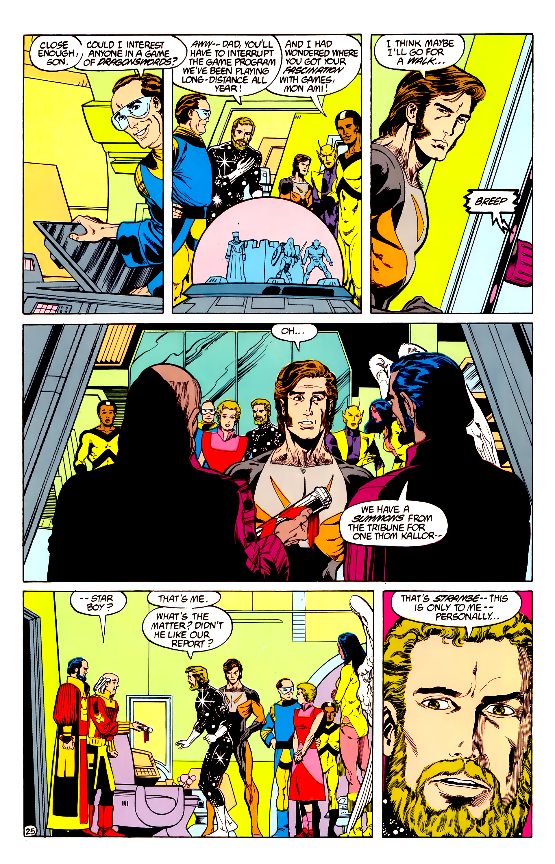 Legion of Super-Heroes (1984) 28 Page 26