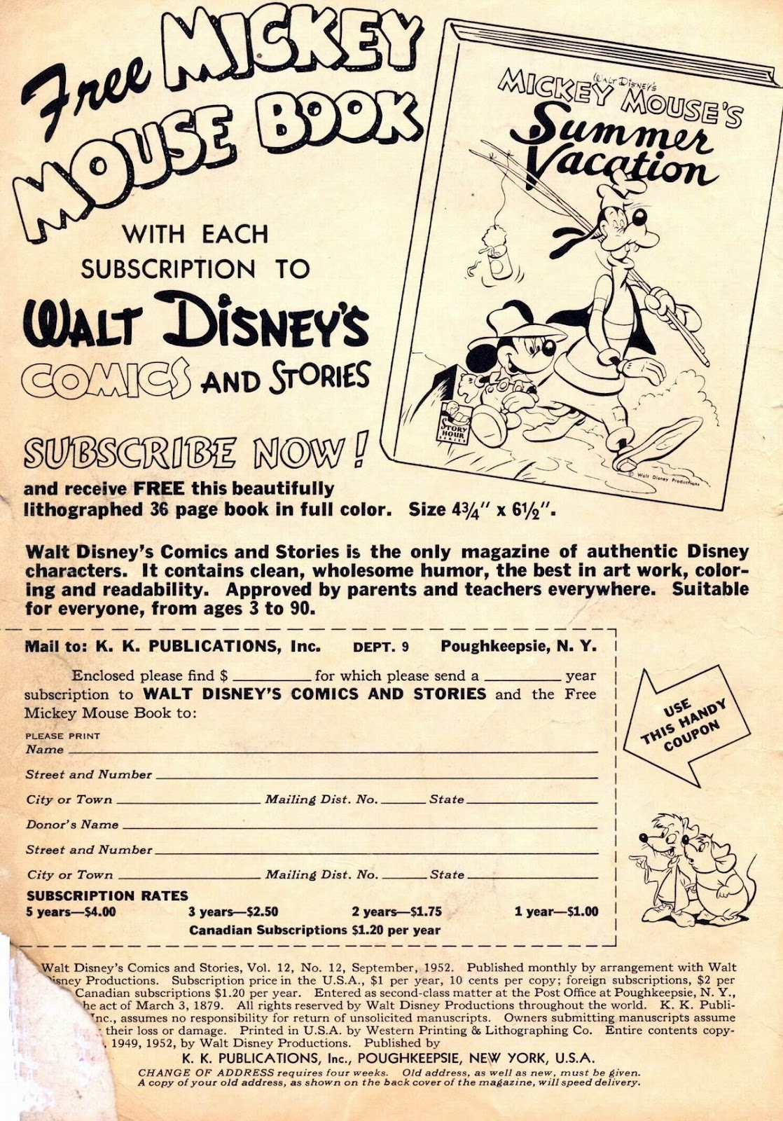 Walt Disney's Comics and Stories issue 144 - Page 2