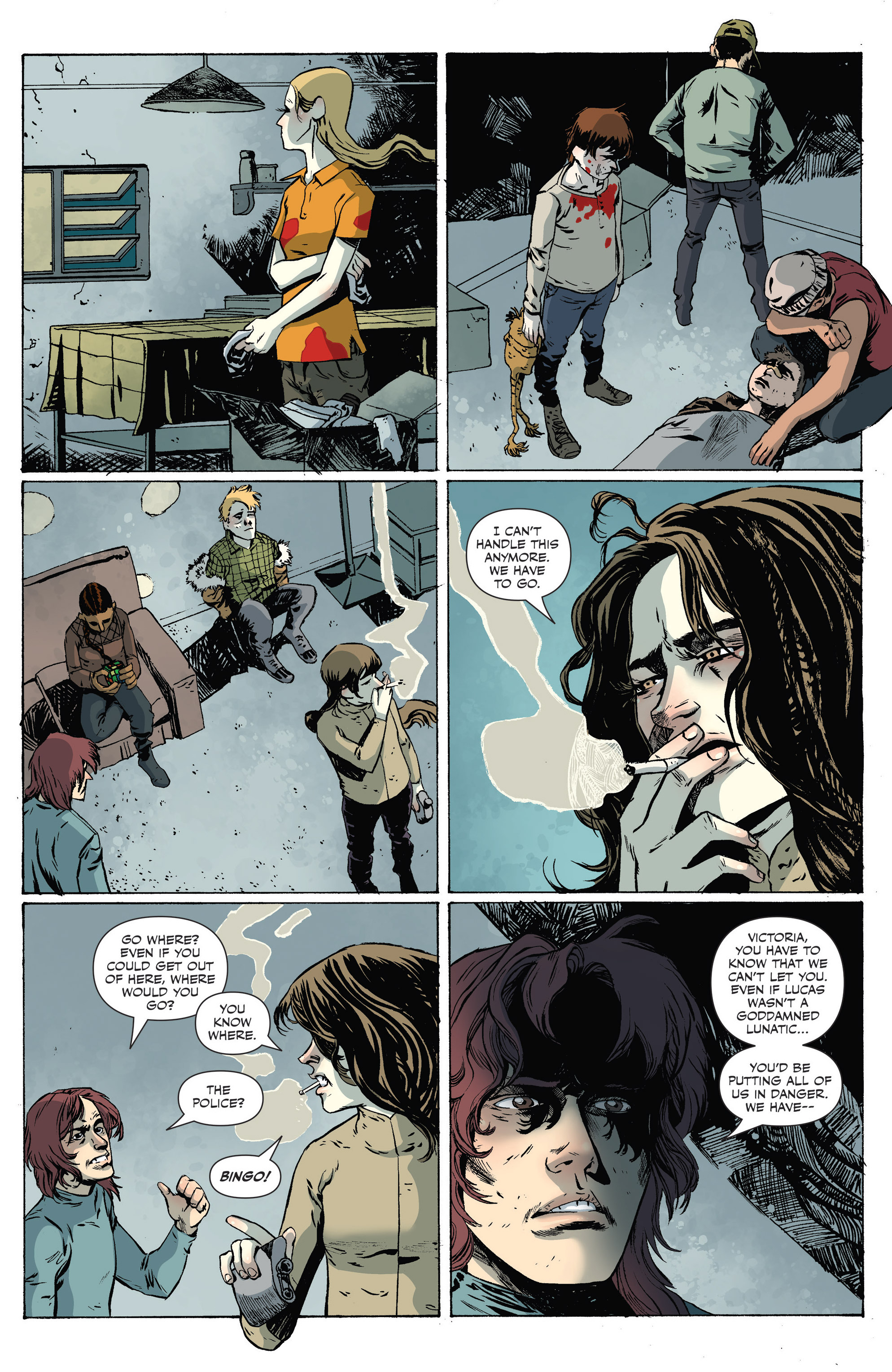 Read online Sheltered comic -  Issue #9 - 11