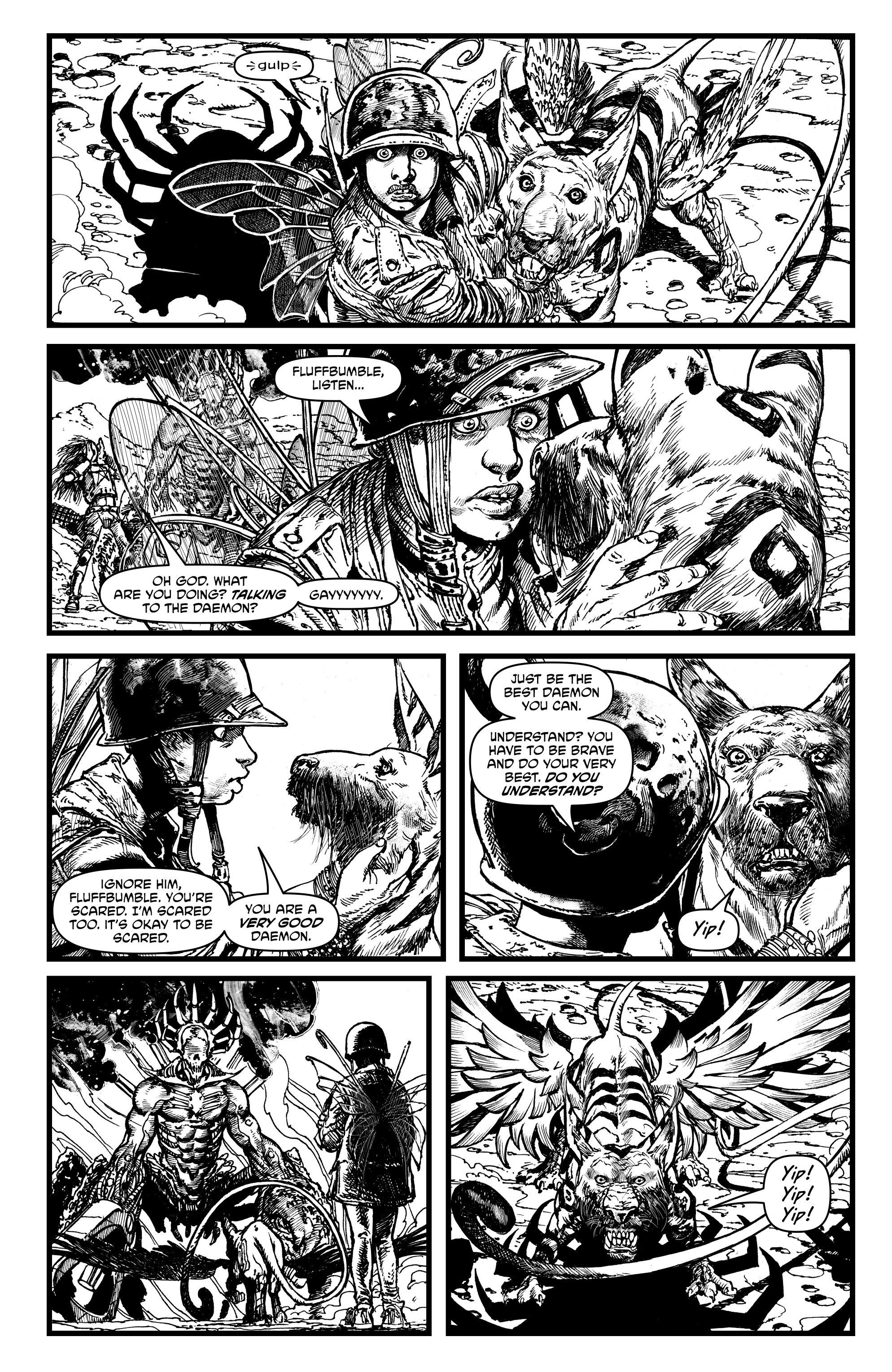 Read online Alan Moore's Cinema Purgatorio comic -  Issue #1 - 29