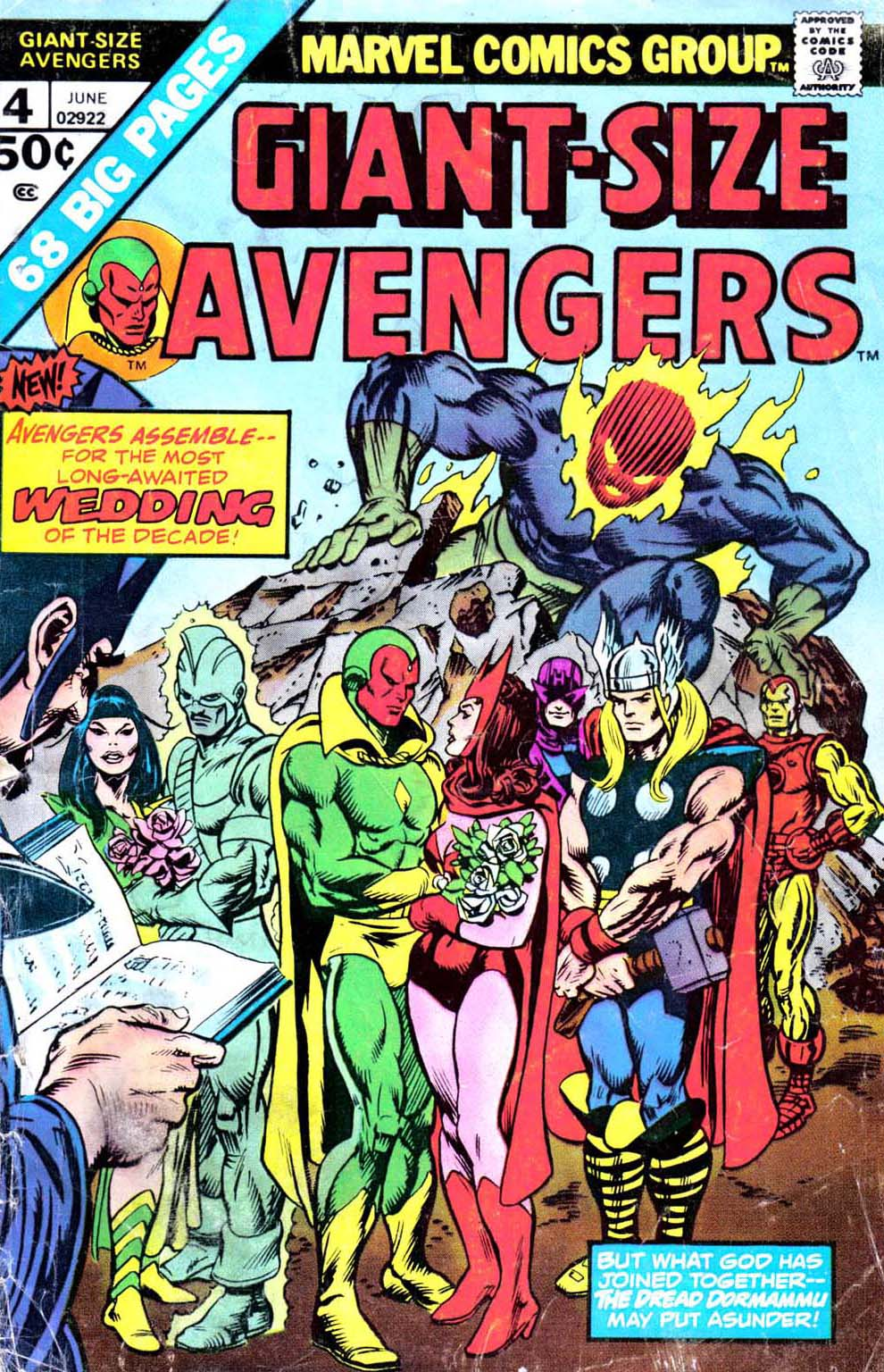 Giant-Size Avengers (1974) issue 4 - Page 1