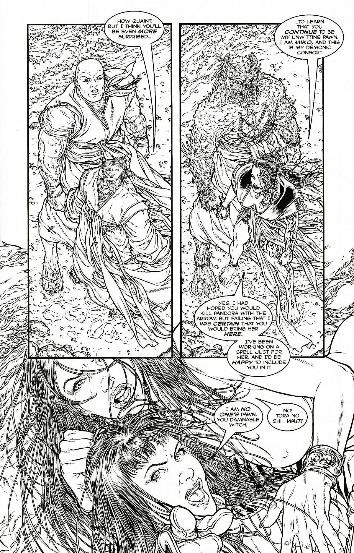 Read online Shi: Pandora's Box comic -  Issue #1 - 13