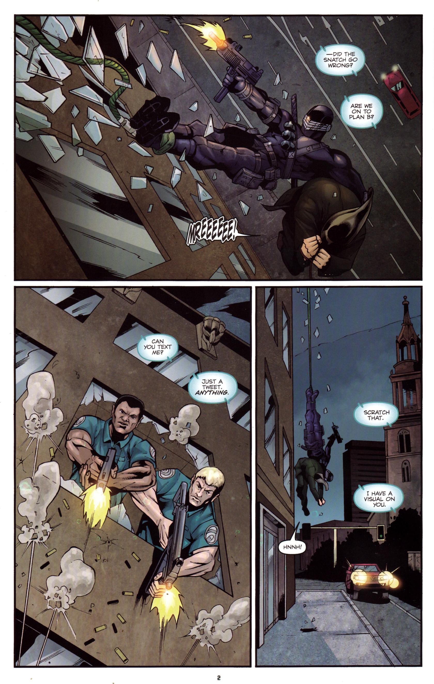Read online G.I. Joe: Snake Eyes comic -  Issue #5 - 5