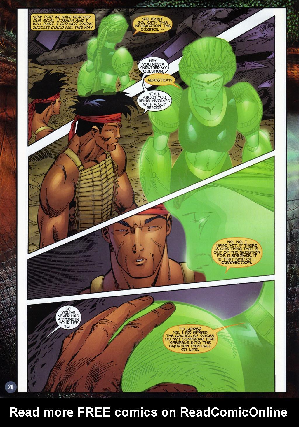 Read online Turok 2: Adon's Curse comic -  Issue # Full - 21