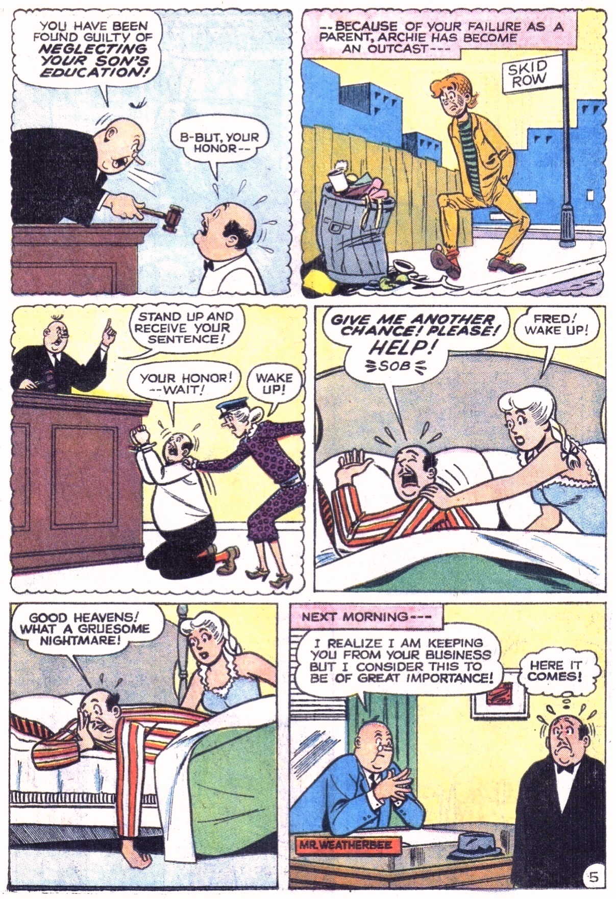 Read online Archie (1960) comic -  Issue #151 - 7
