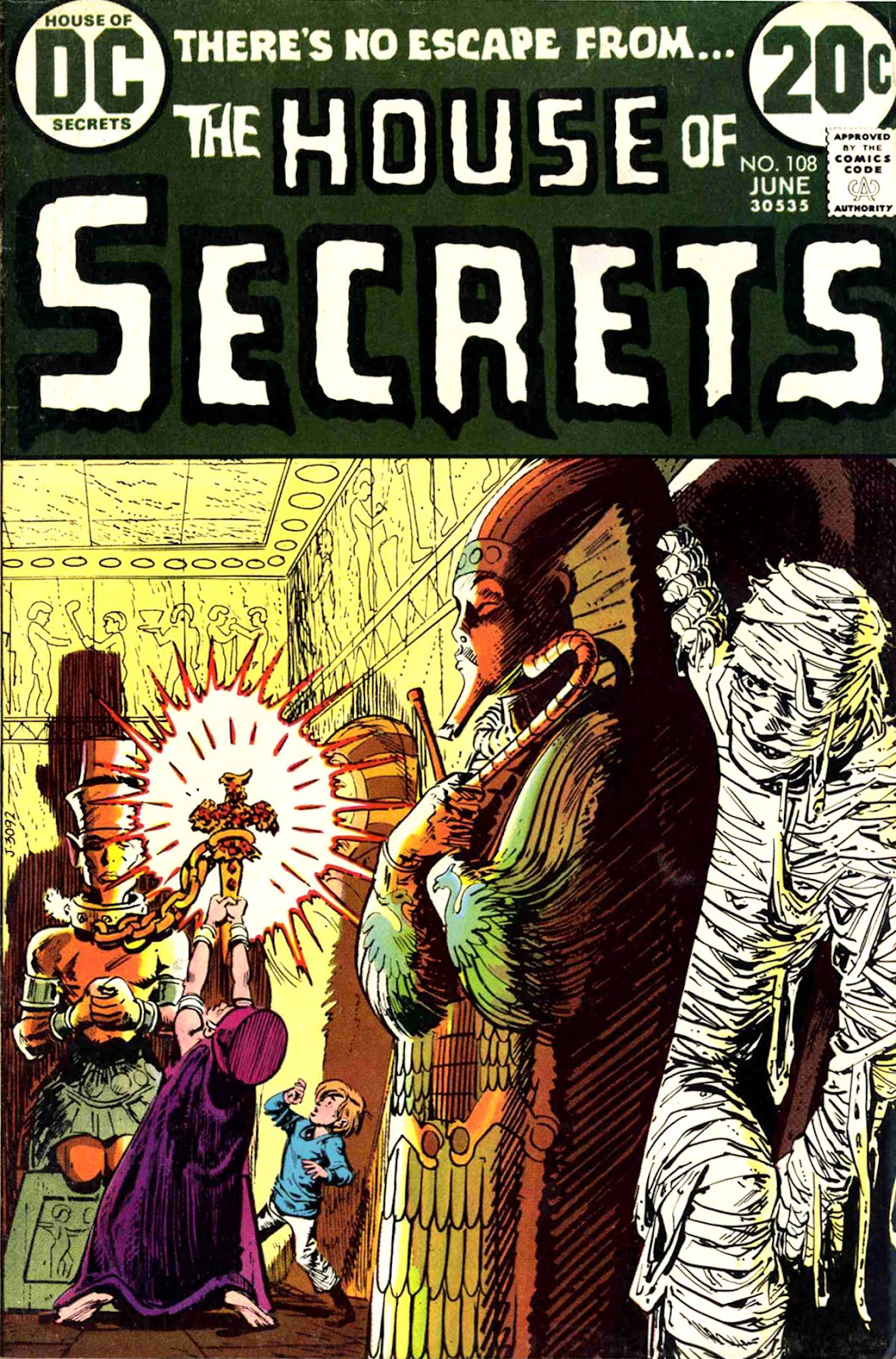 House of Secrets (1956) issue 108 - Page 1