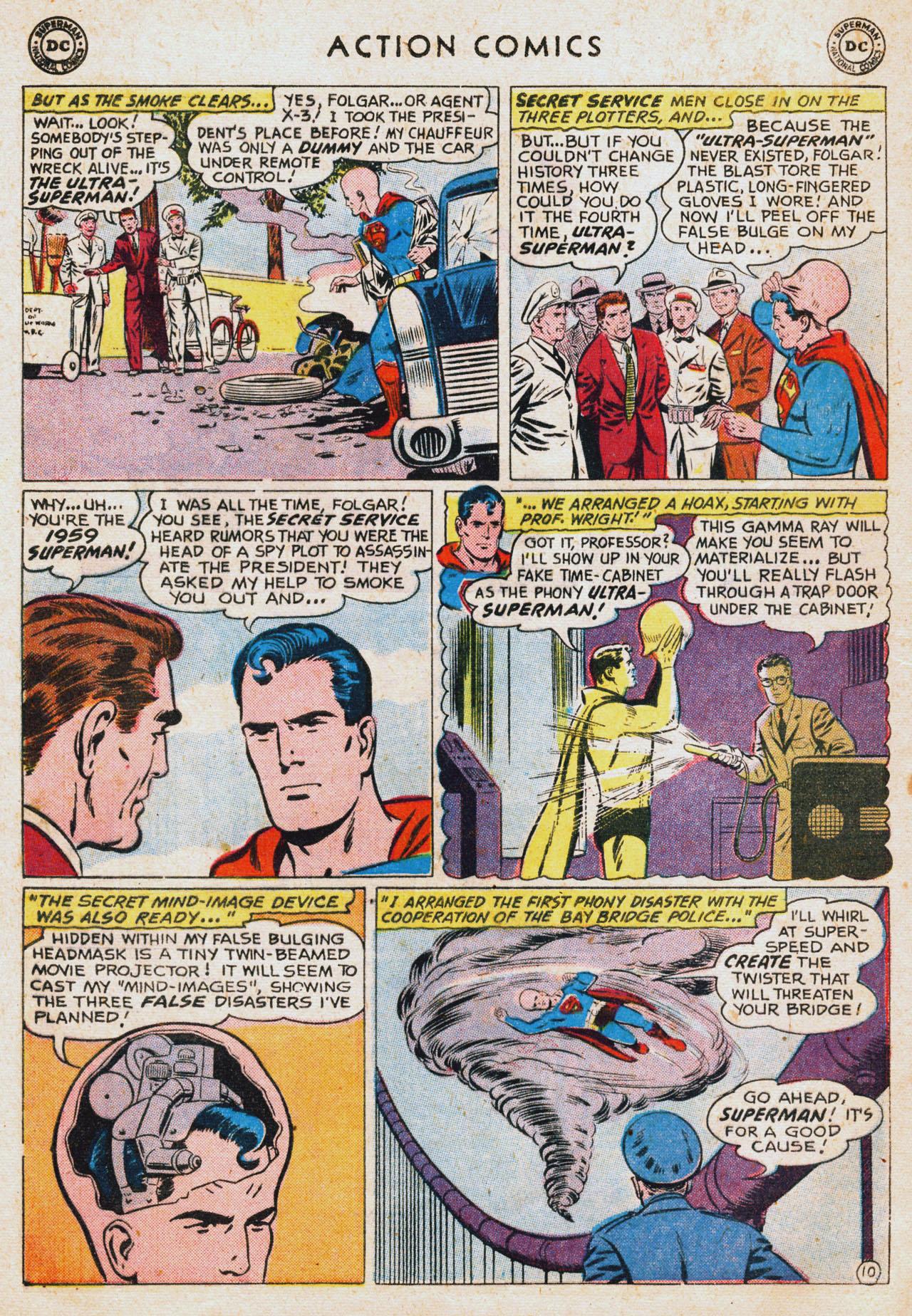 Action Comics (1938) 256 Page 11