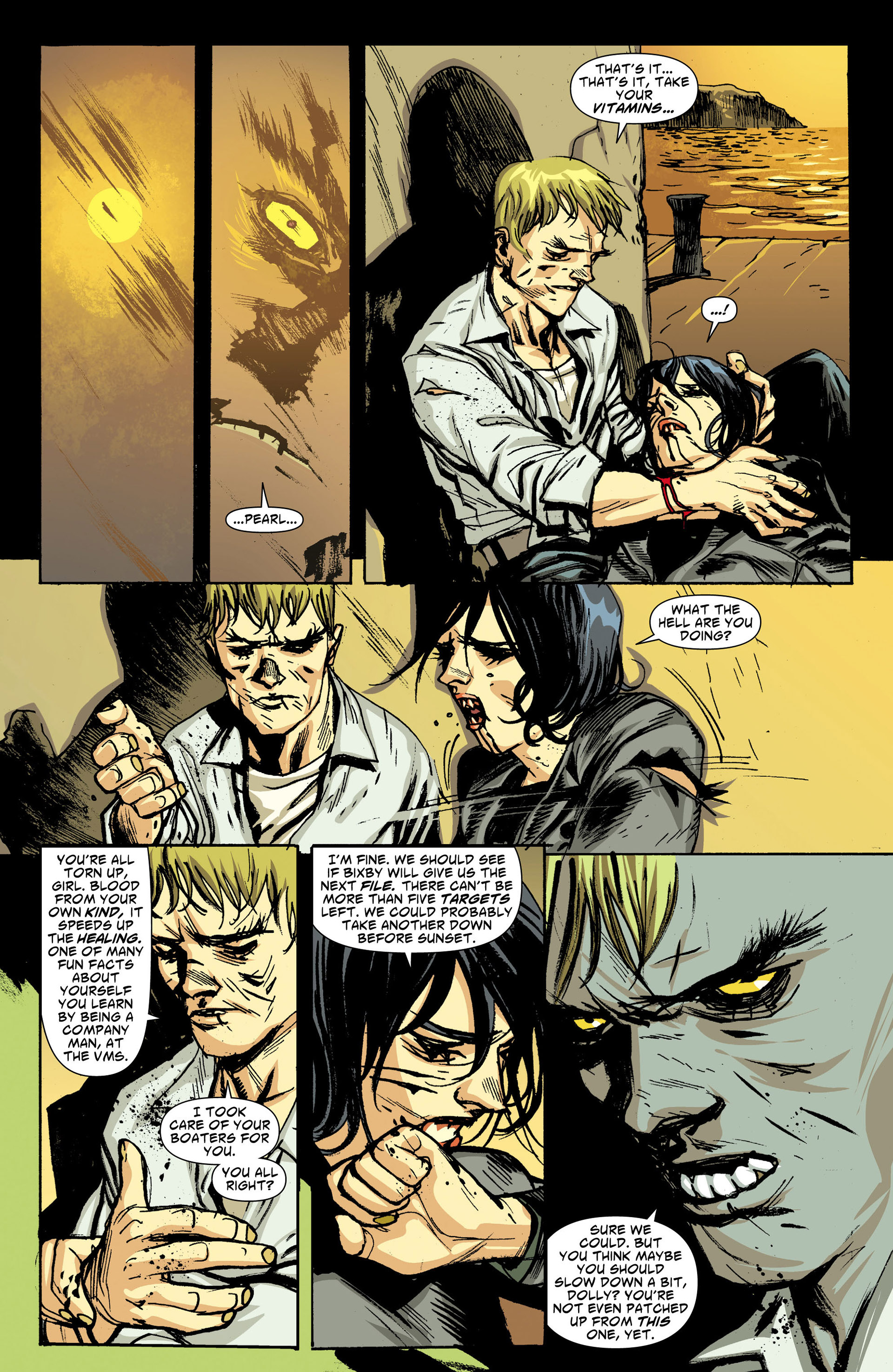 Read online American Vampire comic -  Issue #30 - 16