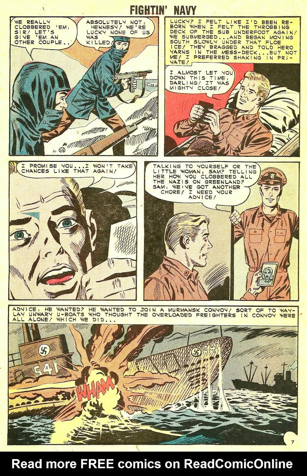 Read online Fightin' Navy comic -  Issue #115 - 16