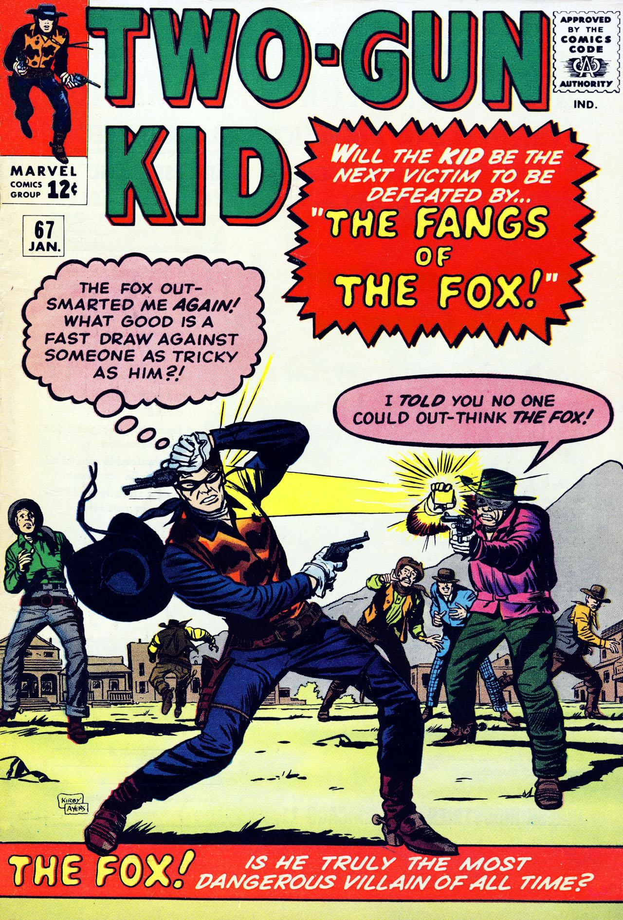 Read online Two-Gun Kid comic -  Issue #67 - 1