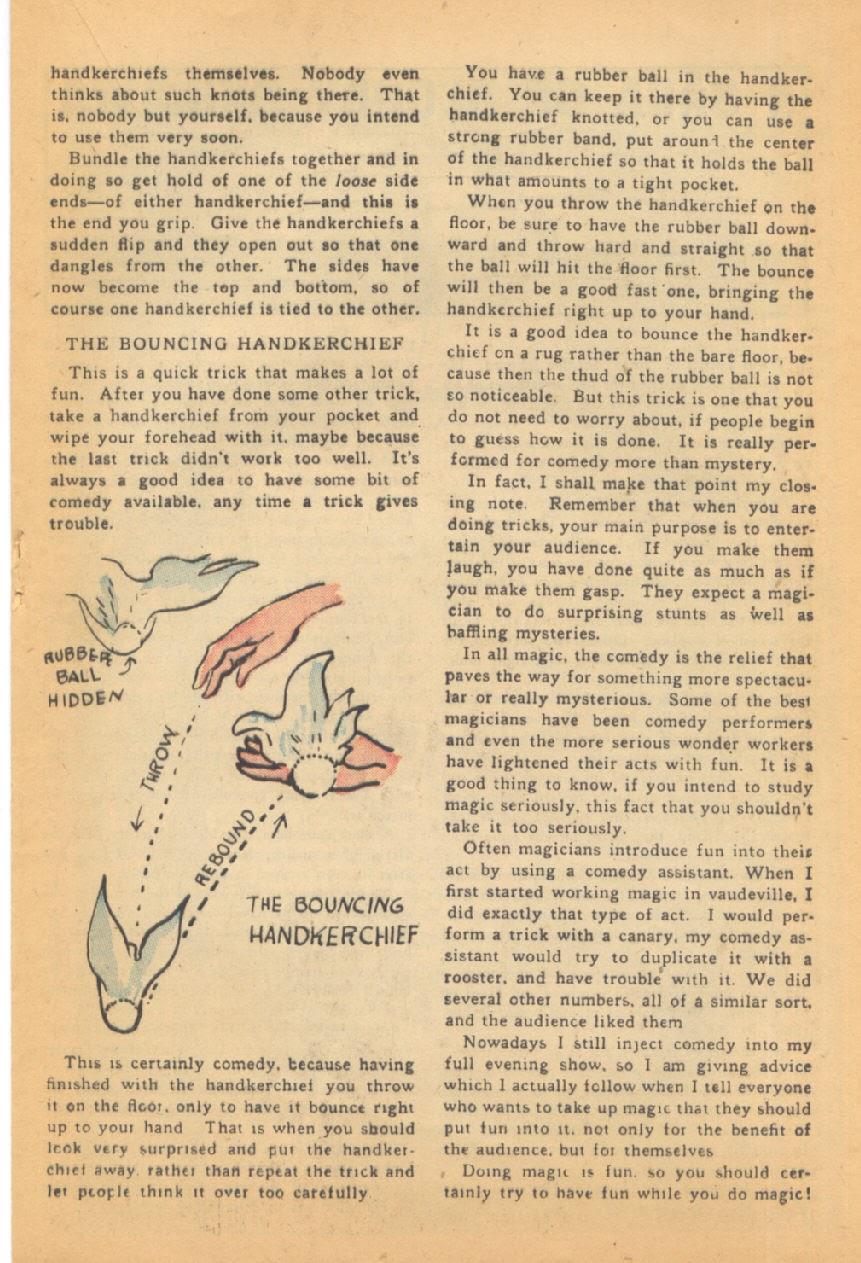 Read online Super-Magician Comics comic -  Issue #44 - 25