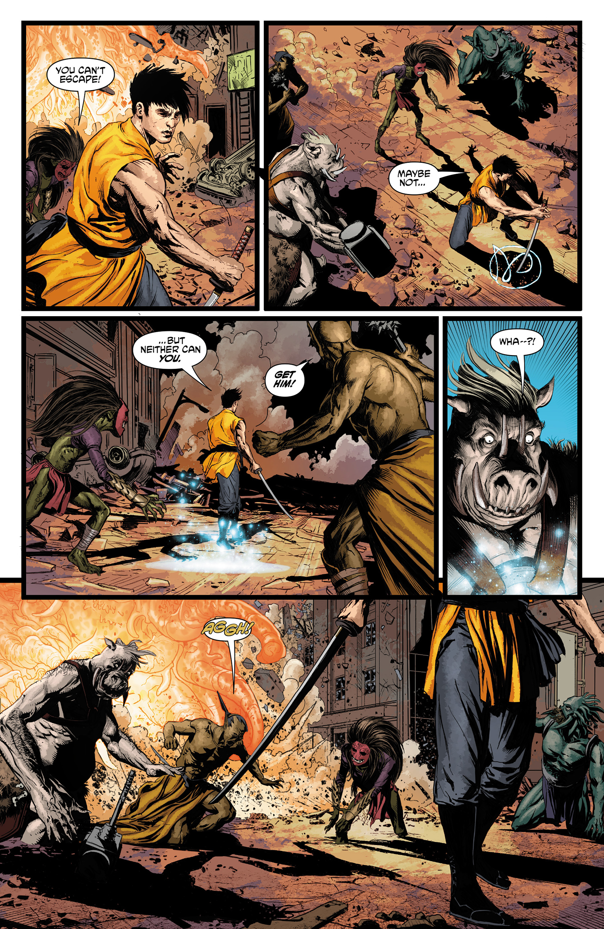 Read online King Tiger comic -  Issue #3 - 17