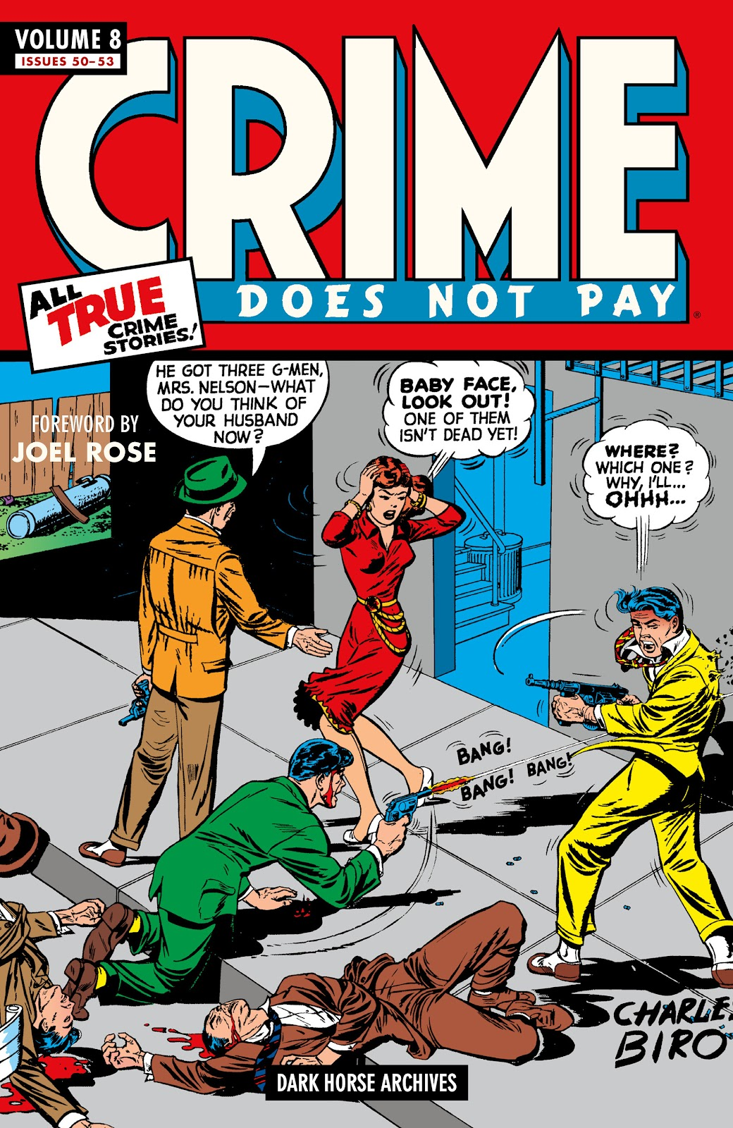 Read online Crime Does Not Pay Archives comic -  Issue # TPB 8 (Part 1) - 1
