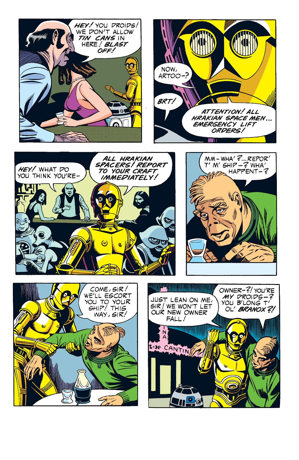 Read online Star Wars Legends: The Newspaper Strips - Epic Collection comic -  Issue # TPB (Part 1) - 66