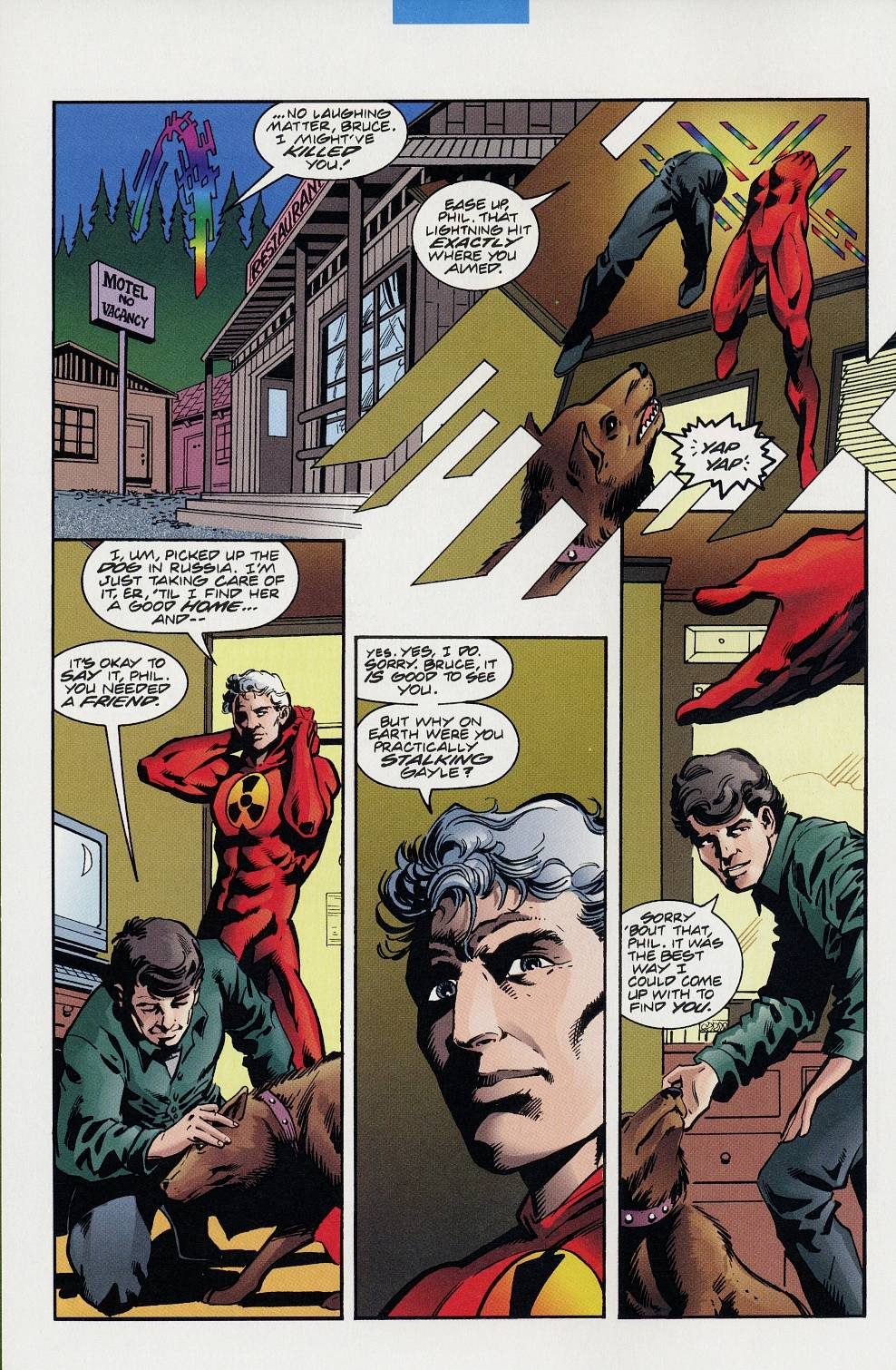 Read online Solar, Man of the Atom comic -  Issue #59 - 6
