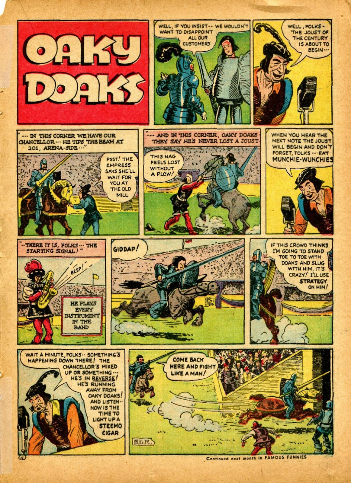 Read online Famous Funnies comic -  Issue #84 - 41