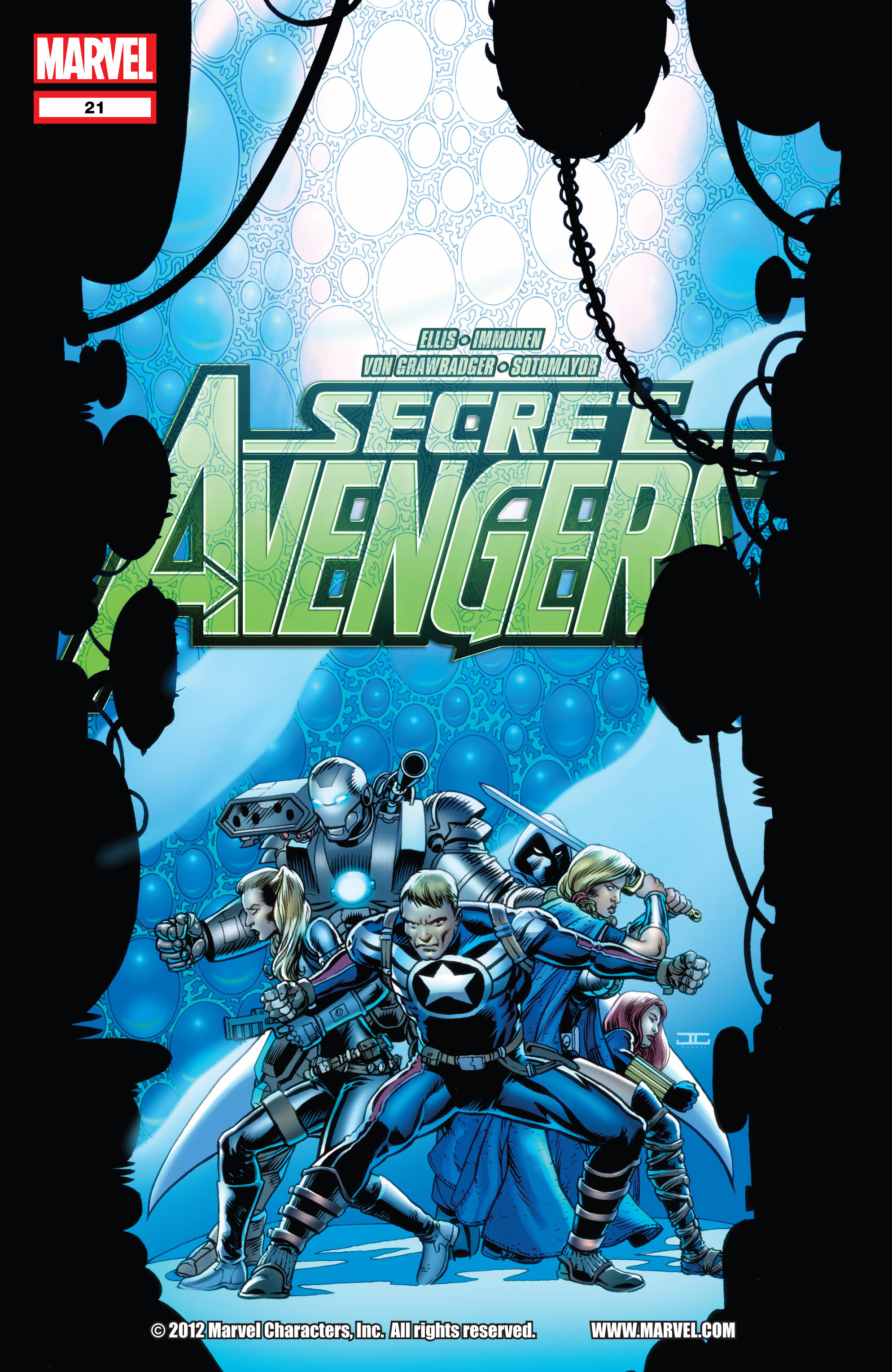 Read online Secret Avengers (2010) comic -  Issue #21 - 1