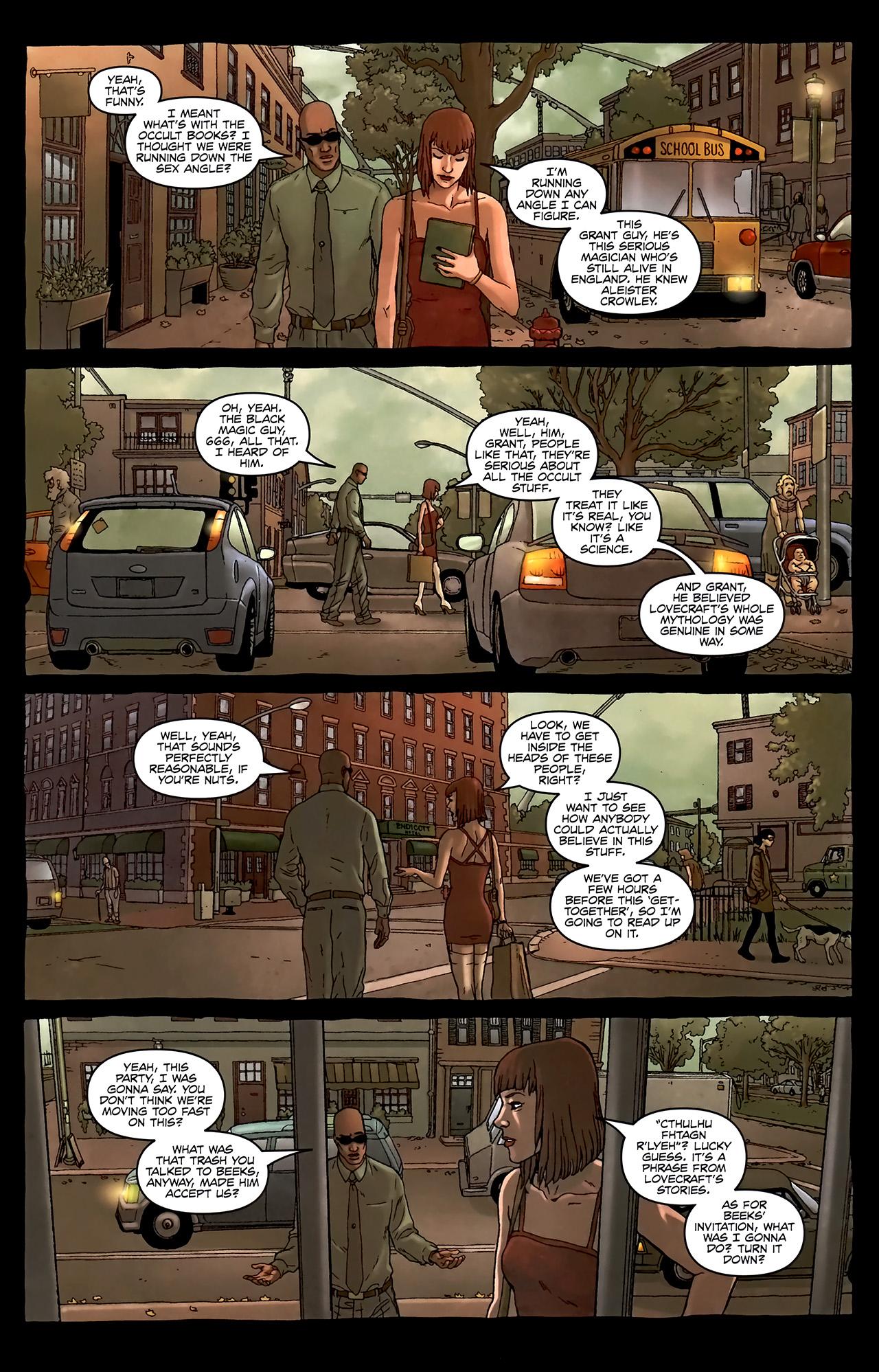 Read online Alan Moore's Neonomicon comic -  Issue #2 - 18