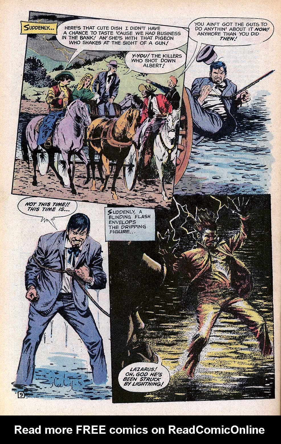 Read online All-Star Western (1970) comic -  Issue #3 - 19