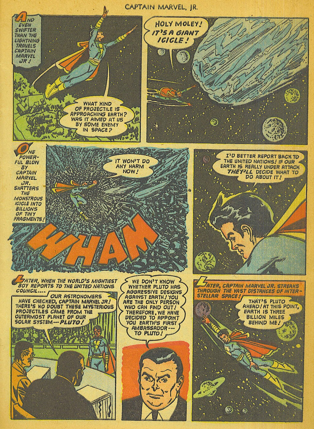 Captain Marvel, Jr. issue 111 - Page 4