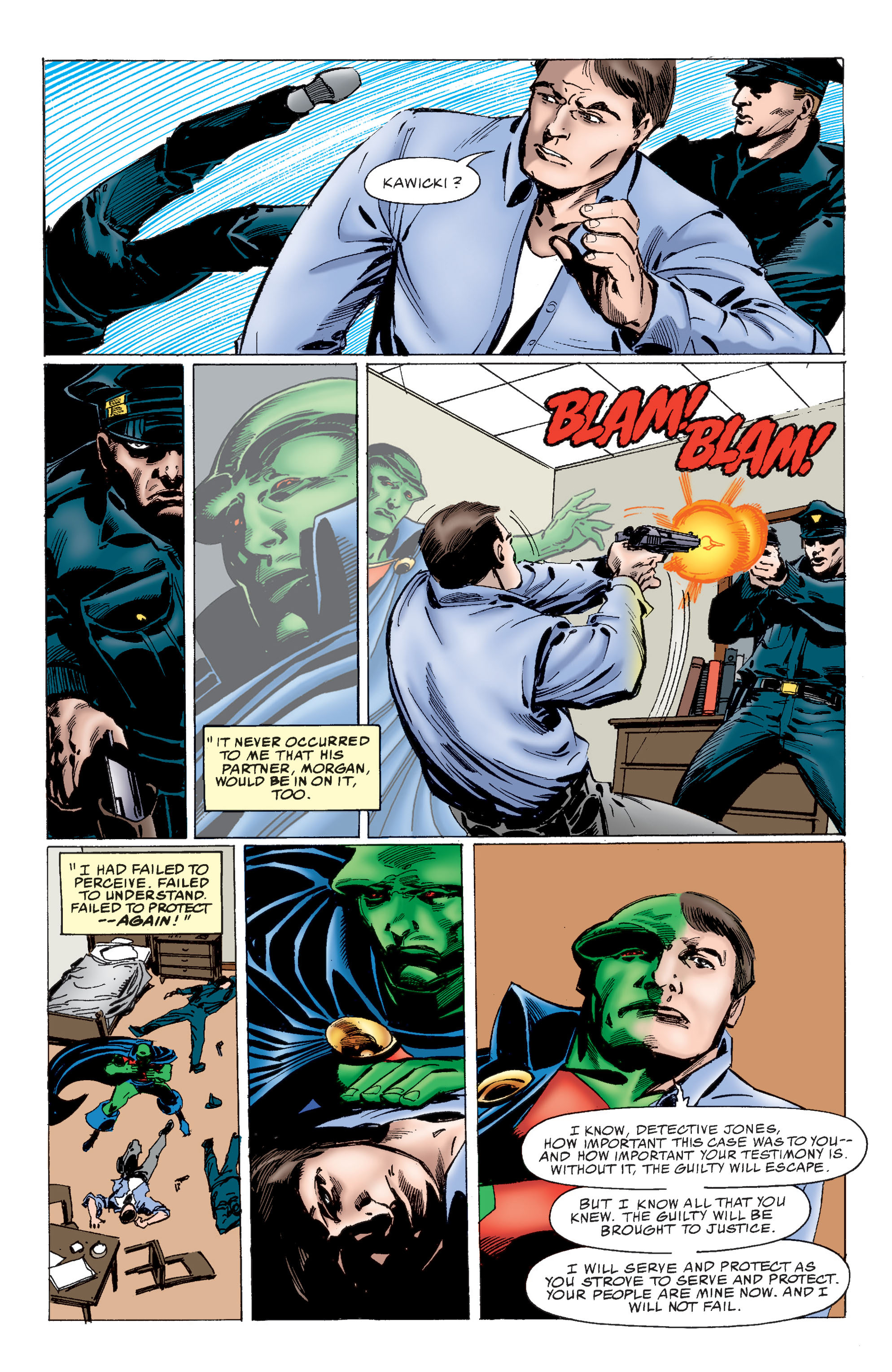 Read online Martian Manhunter: Son of Mars comic -  Issue # TPB - 27