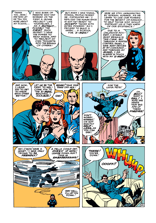 Uncanny X-Men (1963) -1 Page 10