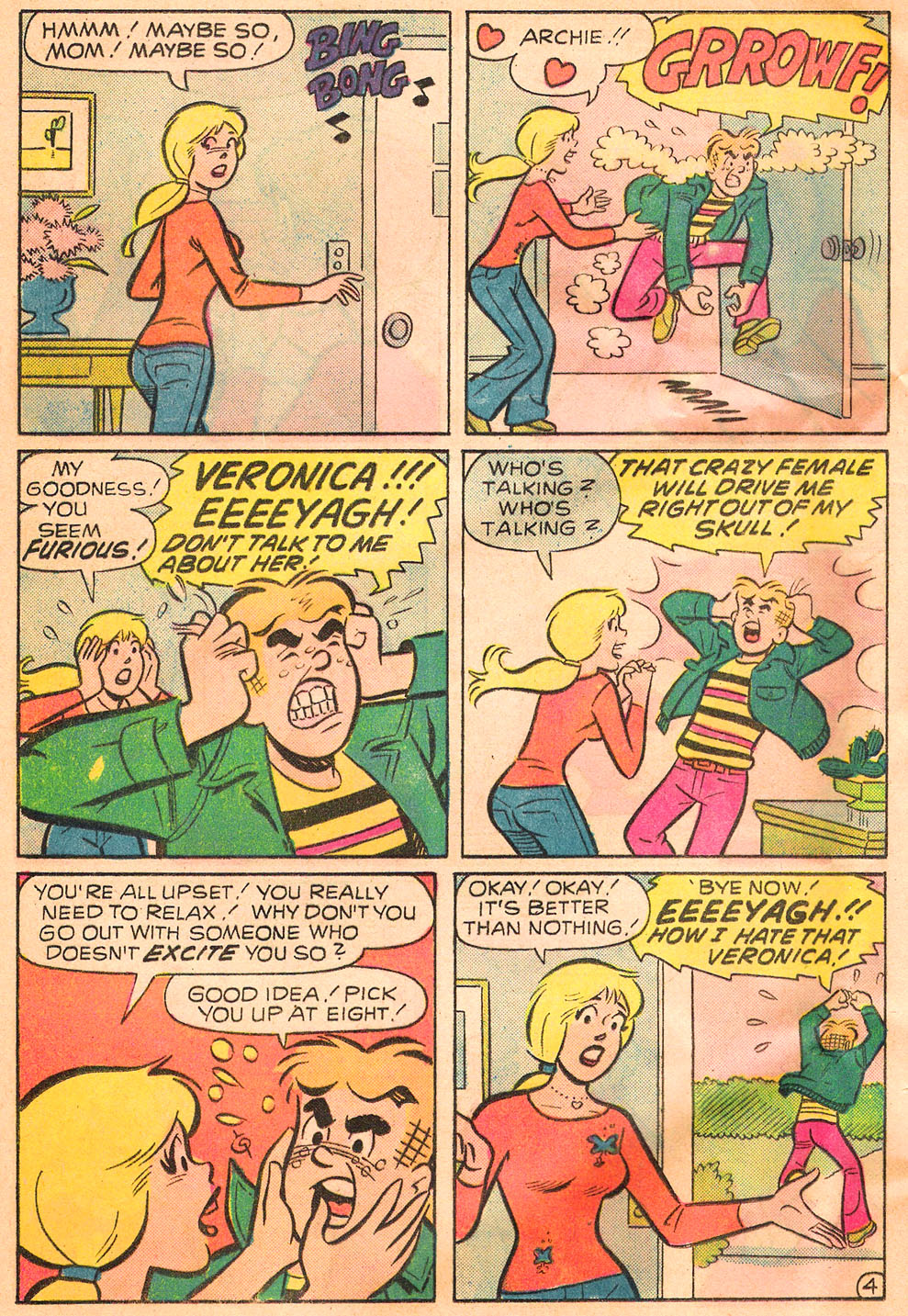 Read online Archie's Girls Betty and Veronica comic -  Issue #244 - 16