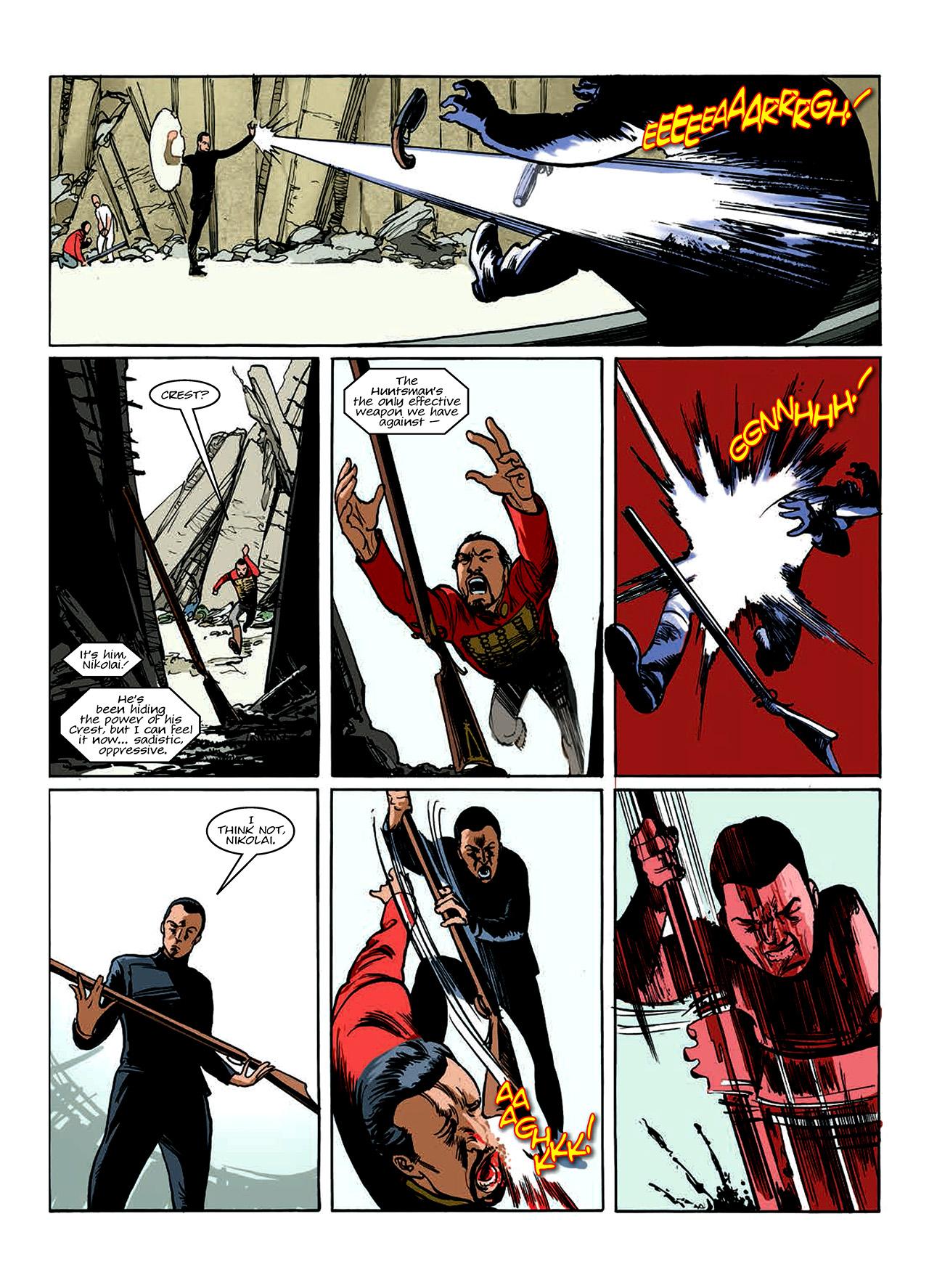 Read online Nikolai Dante comic -  Issue # TPB 10 - 96