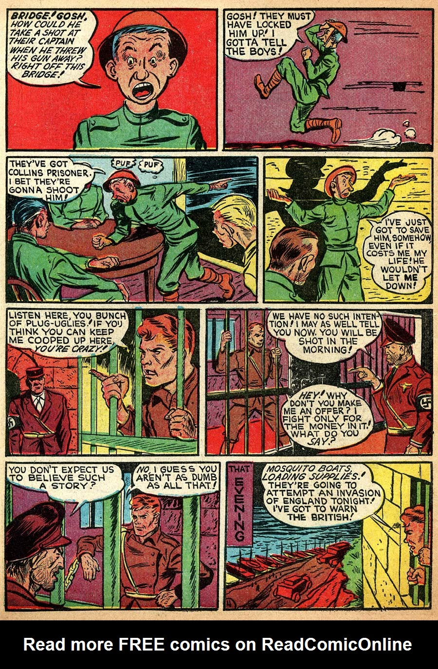 Blue Ribbon Comics (1939) issue 8 - Page 38